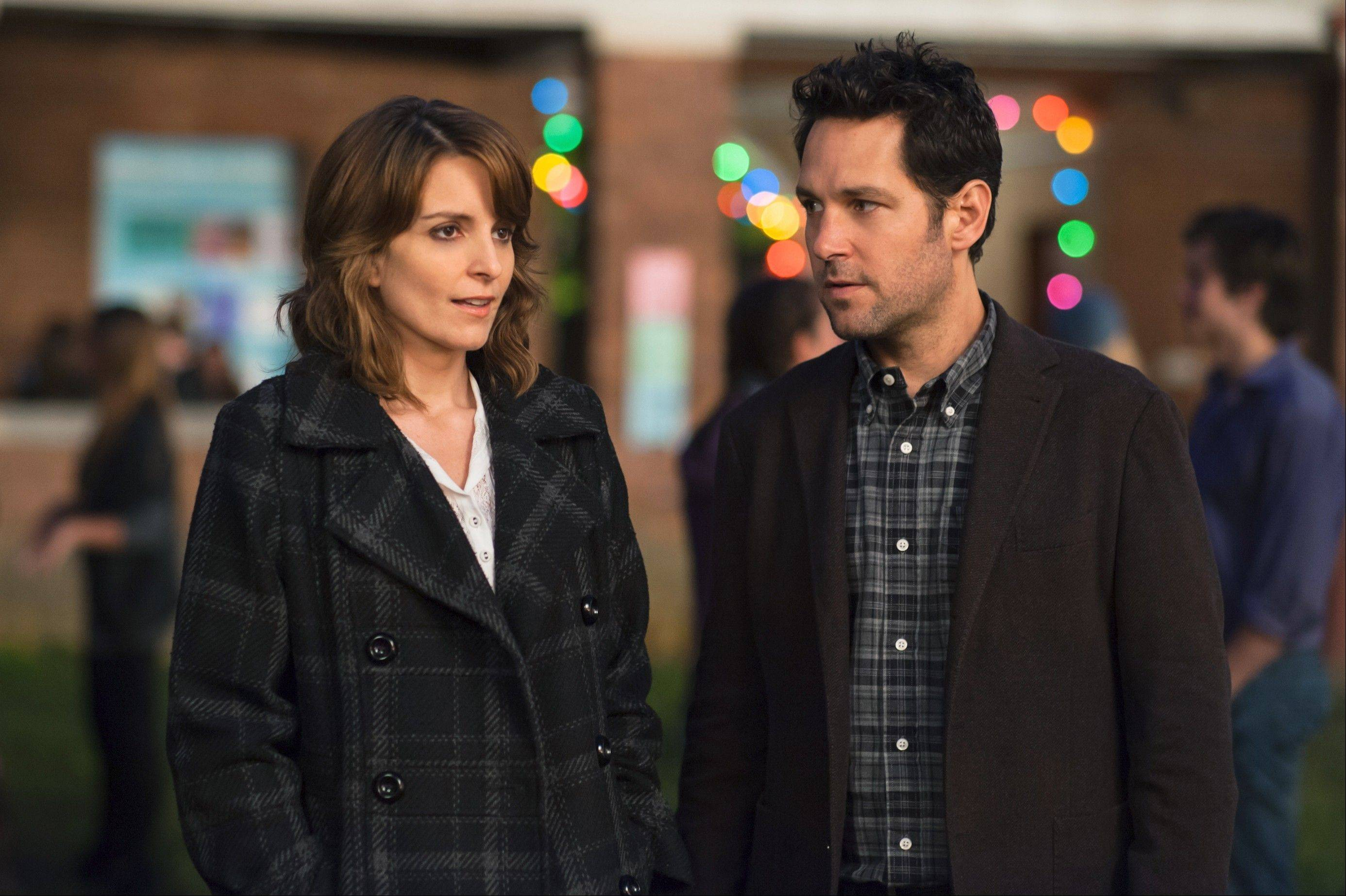 "Princeton University admissions officer Portia (Tina Fey) meets a schoolteacher named John (Paul Rudd) in Paul Weitz's tepid comic drama ""Admission."""