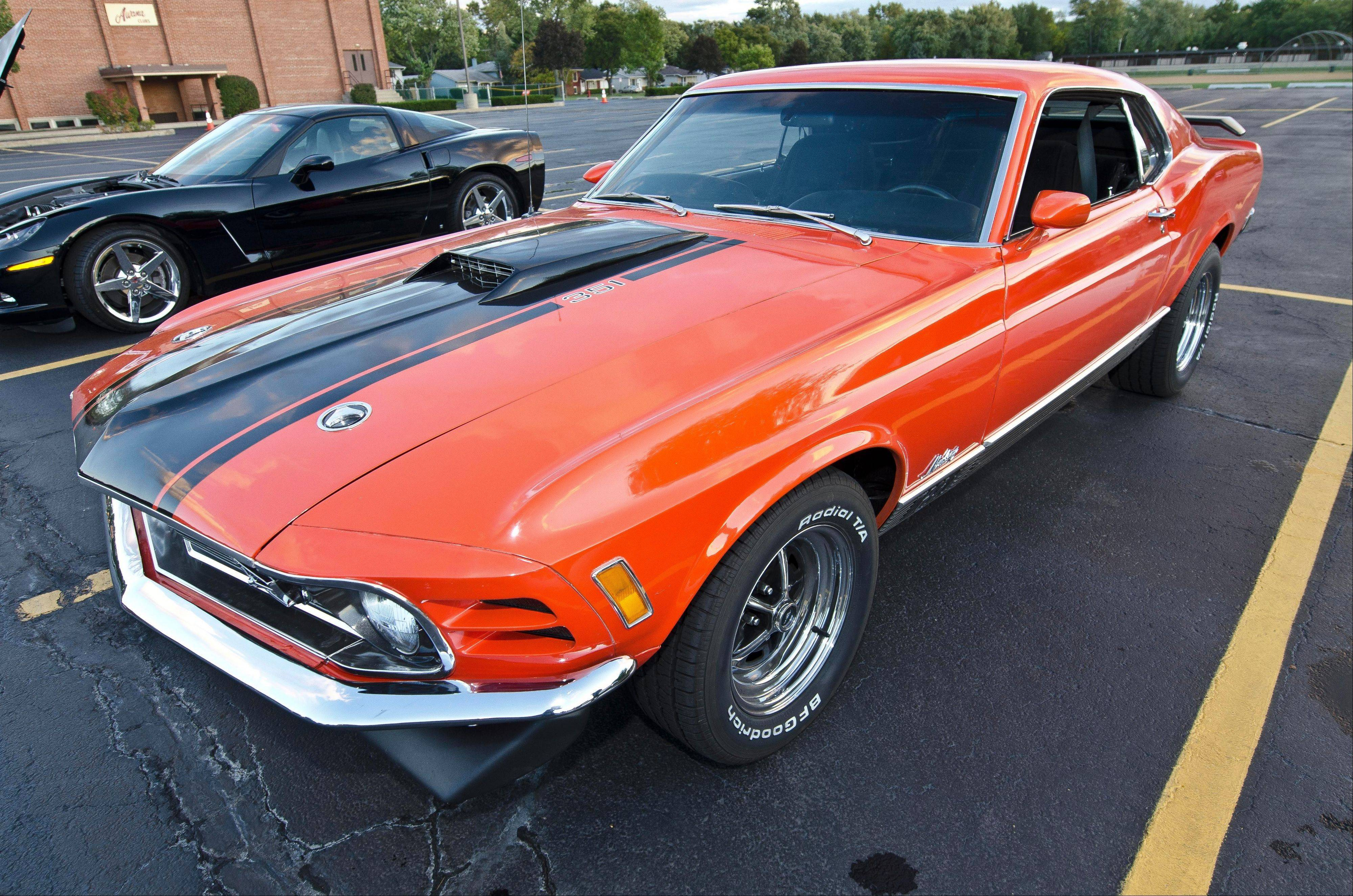 1970 Ford Mustang Mach 1, Dave Otto, Bartlett