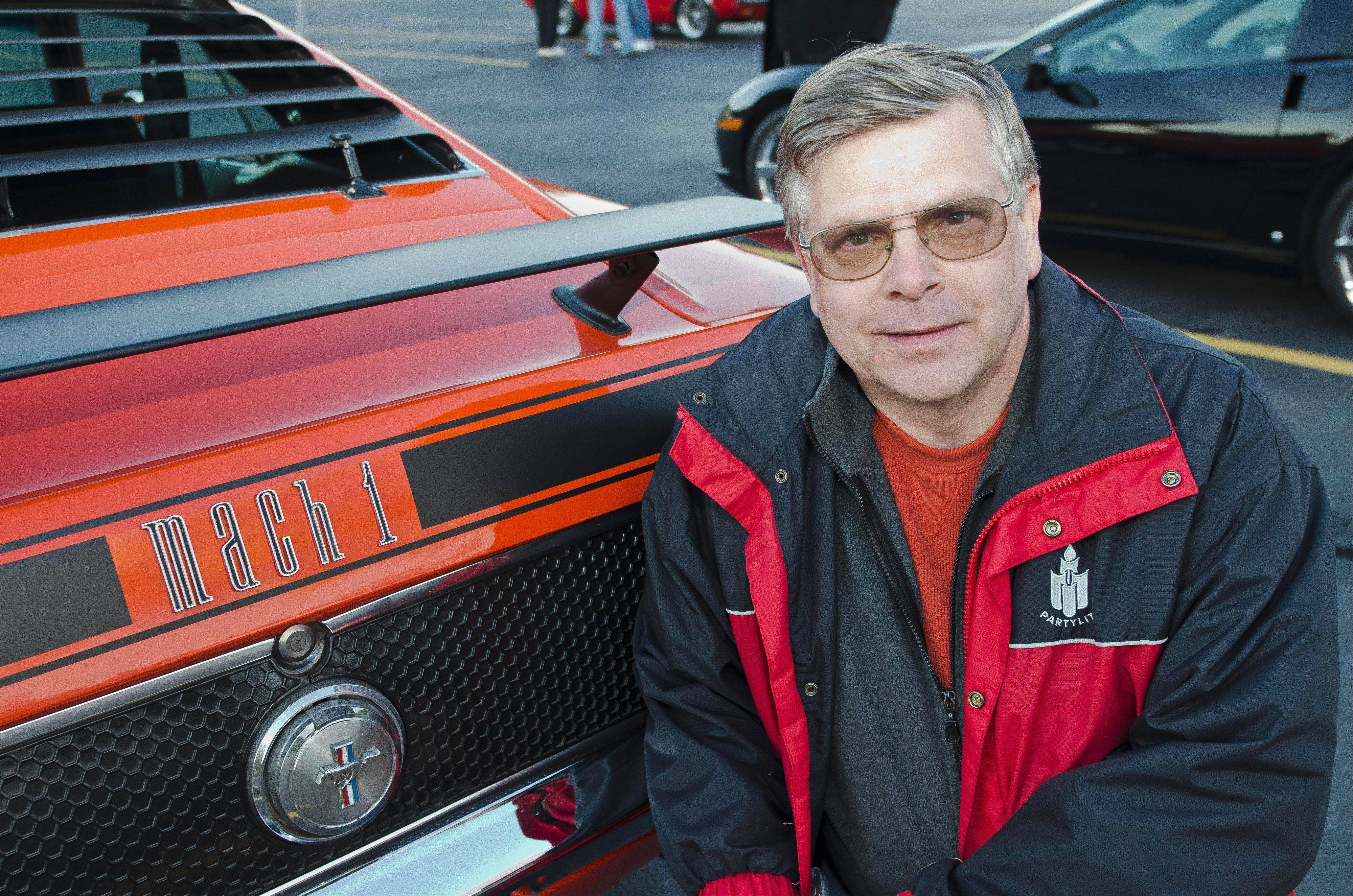 Dave Otto of Bartlett has long been a fan of Ford Mustangs of the muscle-car era.