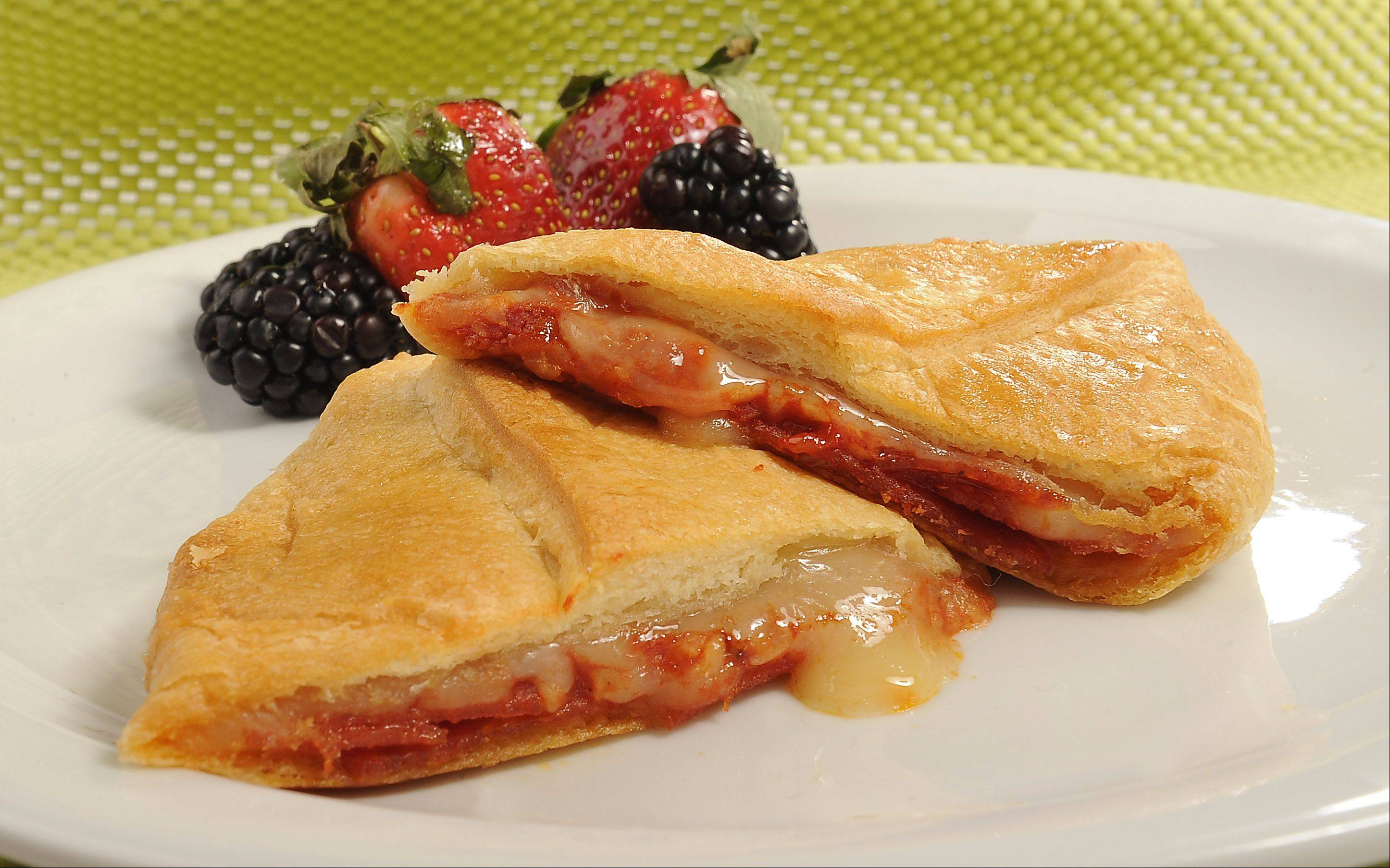 Pizza Pockets are a cinch to make at home and the fillings can be customized to please picky eaters.