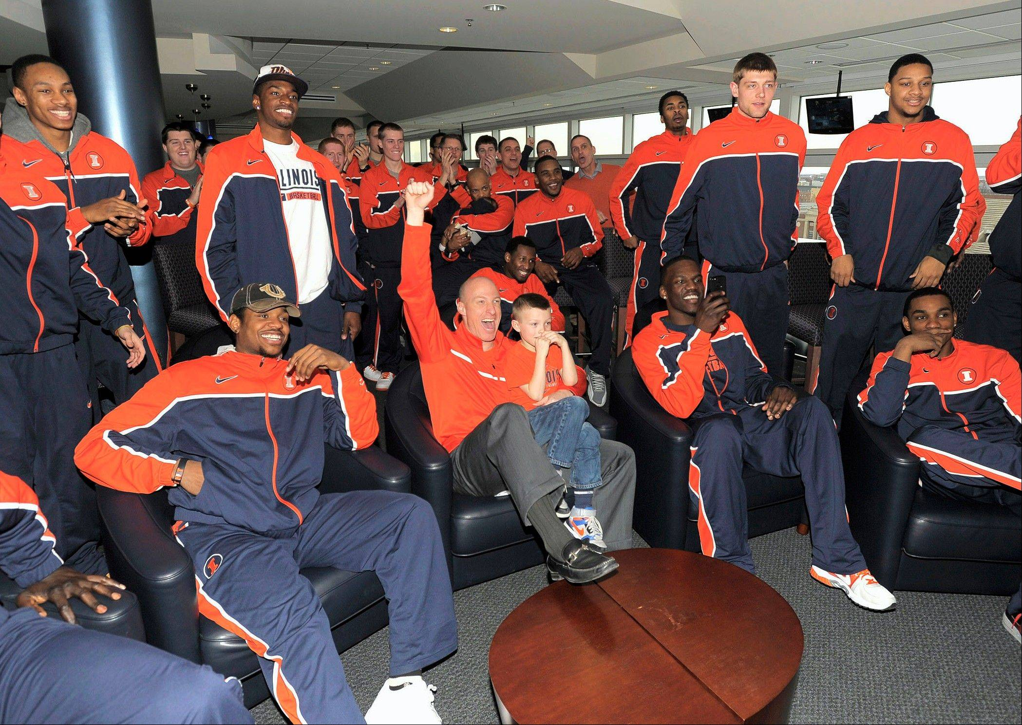 "While waiting to see when, where and who'd they be playing in the NCAA's ""March Madness"" tournament, the University of Illinois basketball team just sat around and watched TV. Men who schedule a vasectomy at Urology Ltd. in Elgin during the tournament can do likewise, and get a free pizza to boot."