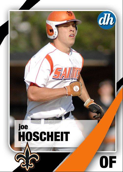 Images of the Daily Herald 2013 virtual trading cards. Joe Hoscheit of St. Charles East.