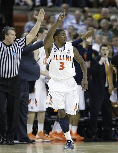 Brandon Paul and D.J. Richardson made consecutive 3-pointers to give Illinois the lead with 6 minutes left and the seventh-seeded Illini pulled out a tough 57-49 win over Colorado in a game of wild momentum swings Friday in the second round of the NCAA tournament.