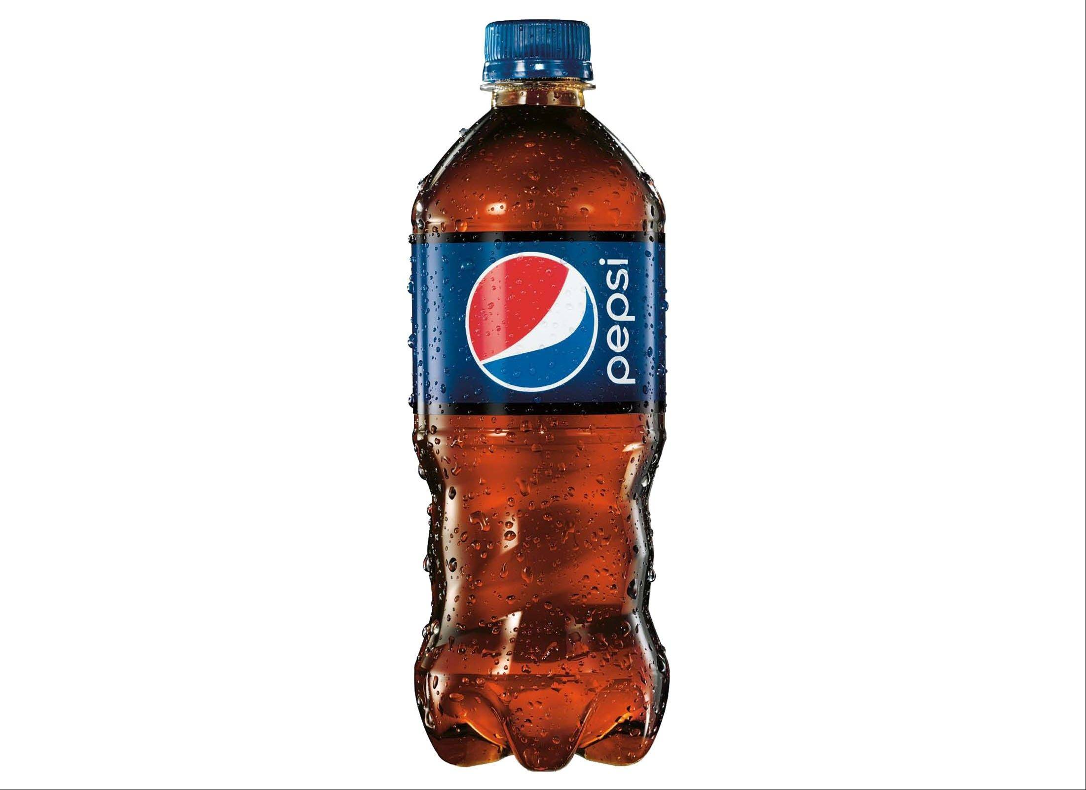 The new 20-ounce Pepsi bottle has a contoured bottom half that appears easier for holding, and the wraparound label is shorter so that more of the drink is exposed.