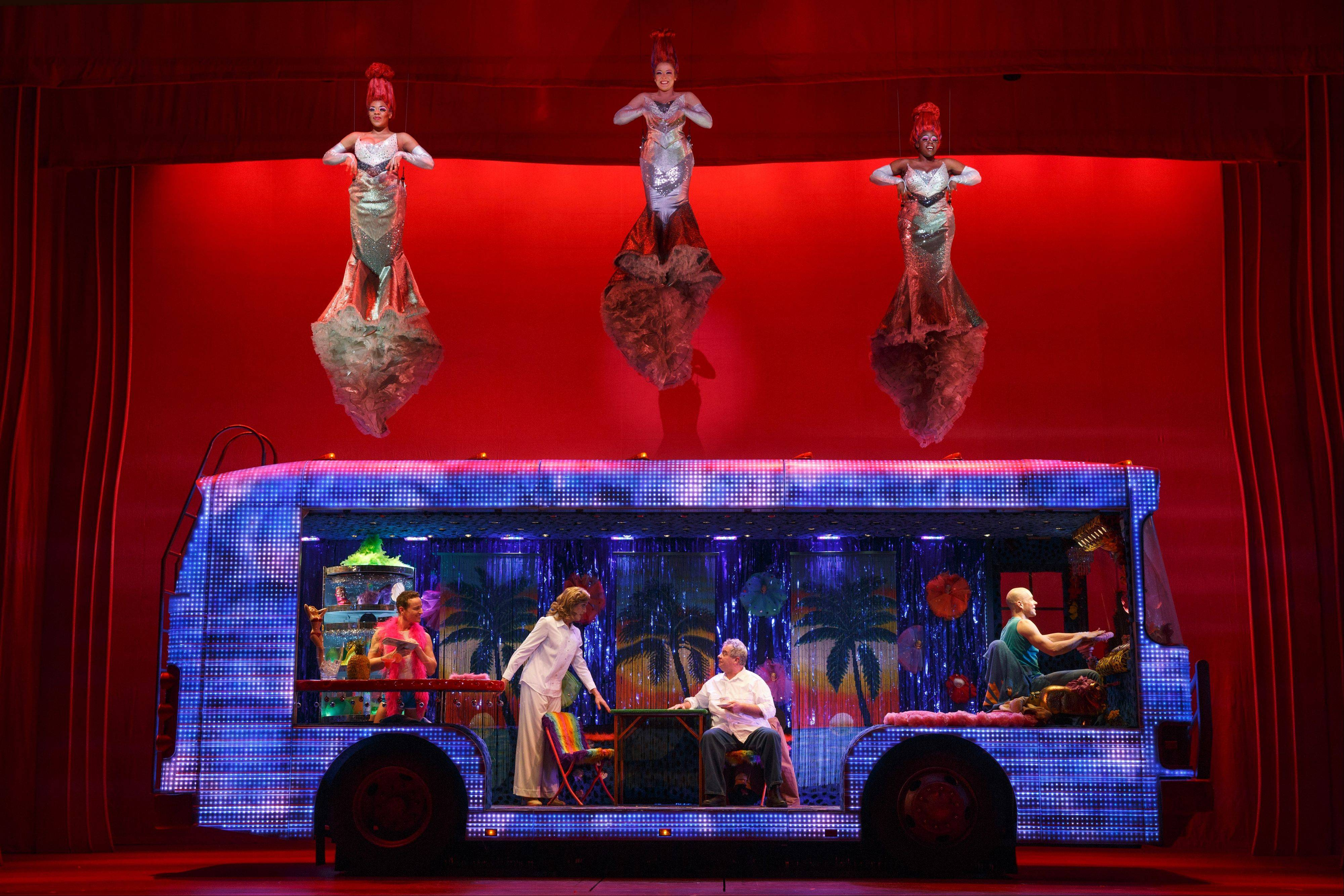 "The national tour of ""Priscilla Queen of the Desert"" rolled into Chicago's Auditorium Theatre this week for a brief run."