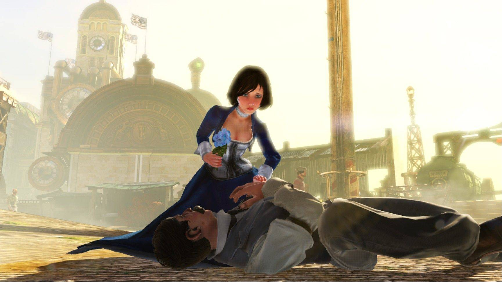 """It's really tough to make a companion character (like Elizabeth) that doesn't annoy the player,"" said ""Bioshock Infinite"" lead programmer John Abercrombie."