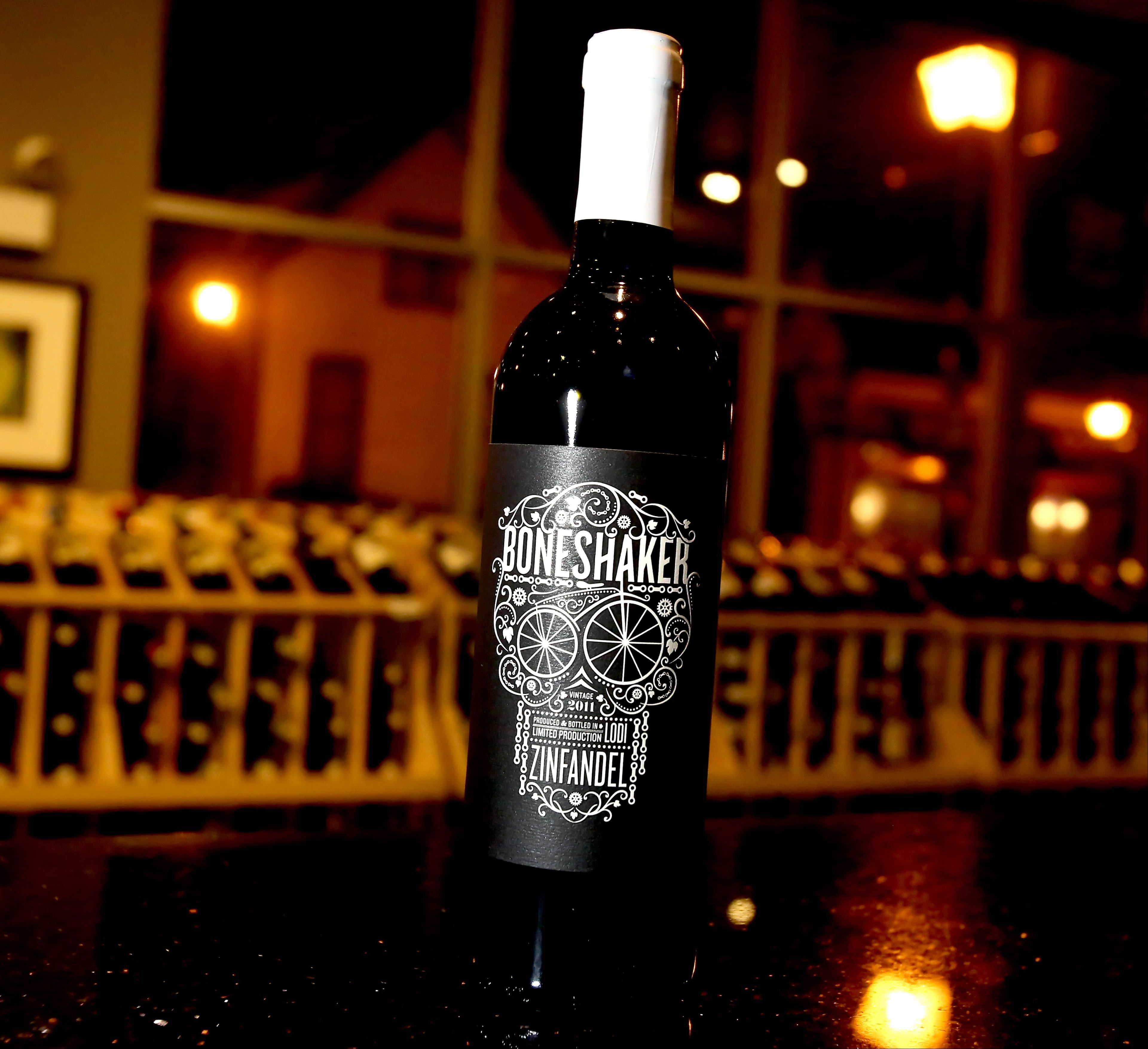 Boneshaker Zinfandel is one of the more popular wines at The Vino Cellar.