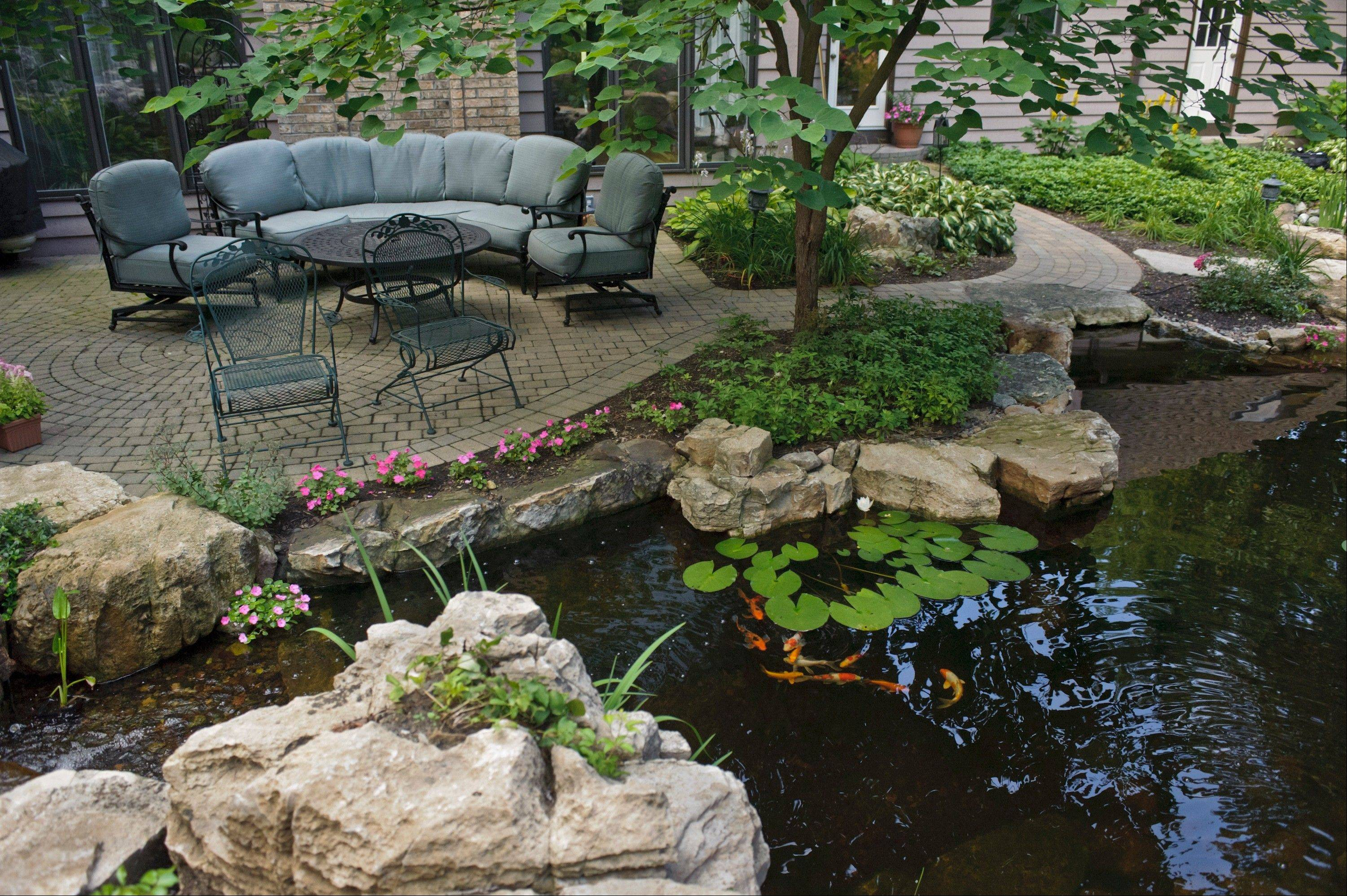 The quality of an outdoor living space is important to many buyers who build a new home.