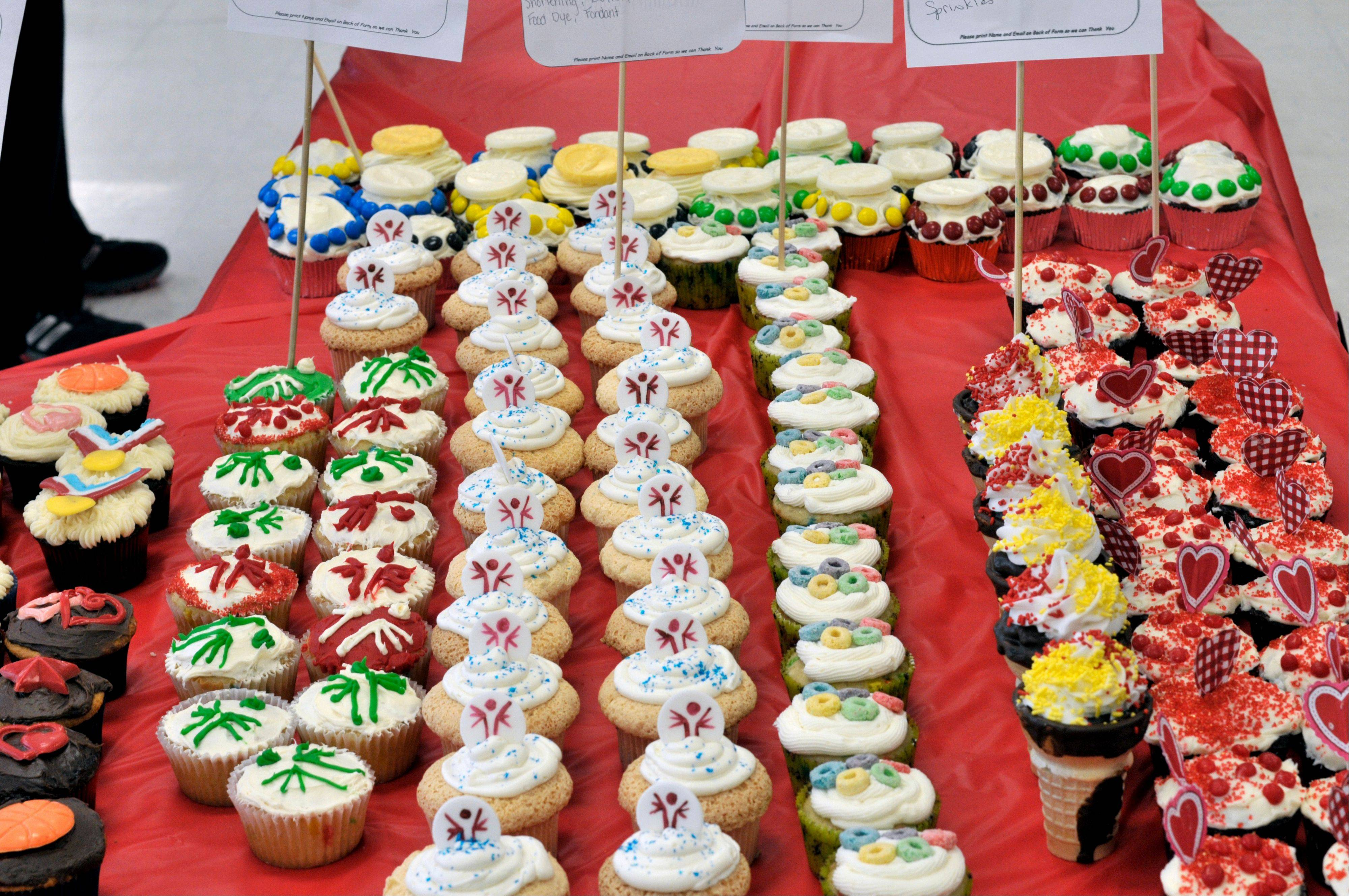Cupcakes for a Cause is a popular fundraiser for the Schaumburg Autism Society.