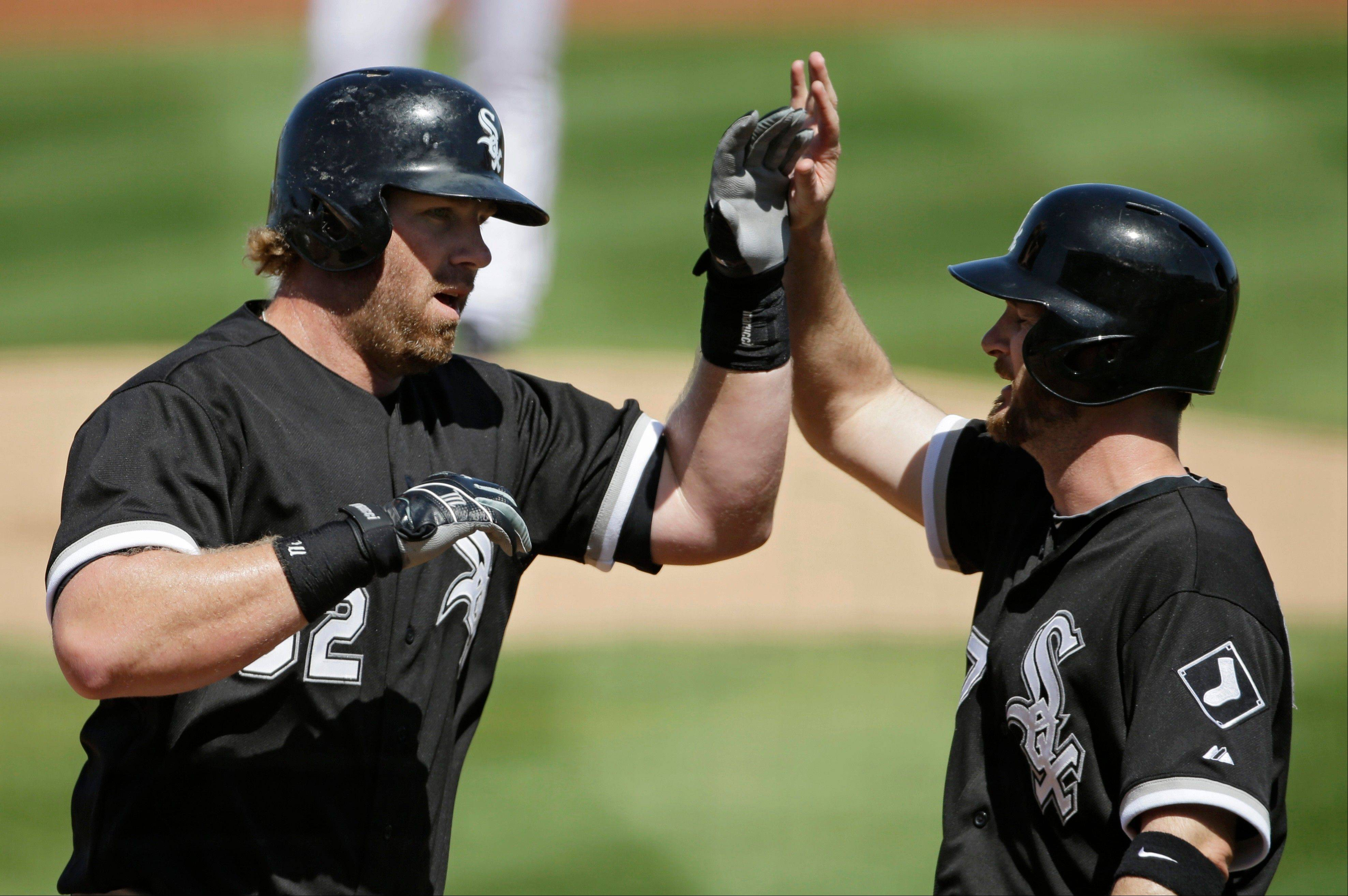 The White Sox are hoping that newcomer Jeff Keppinger, right, is able to set the table as the No. 2 hitter and provide more RBI opportunities for Alex Rios, Adam Dunn and Paul Konerko.