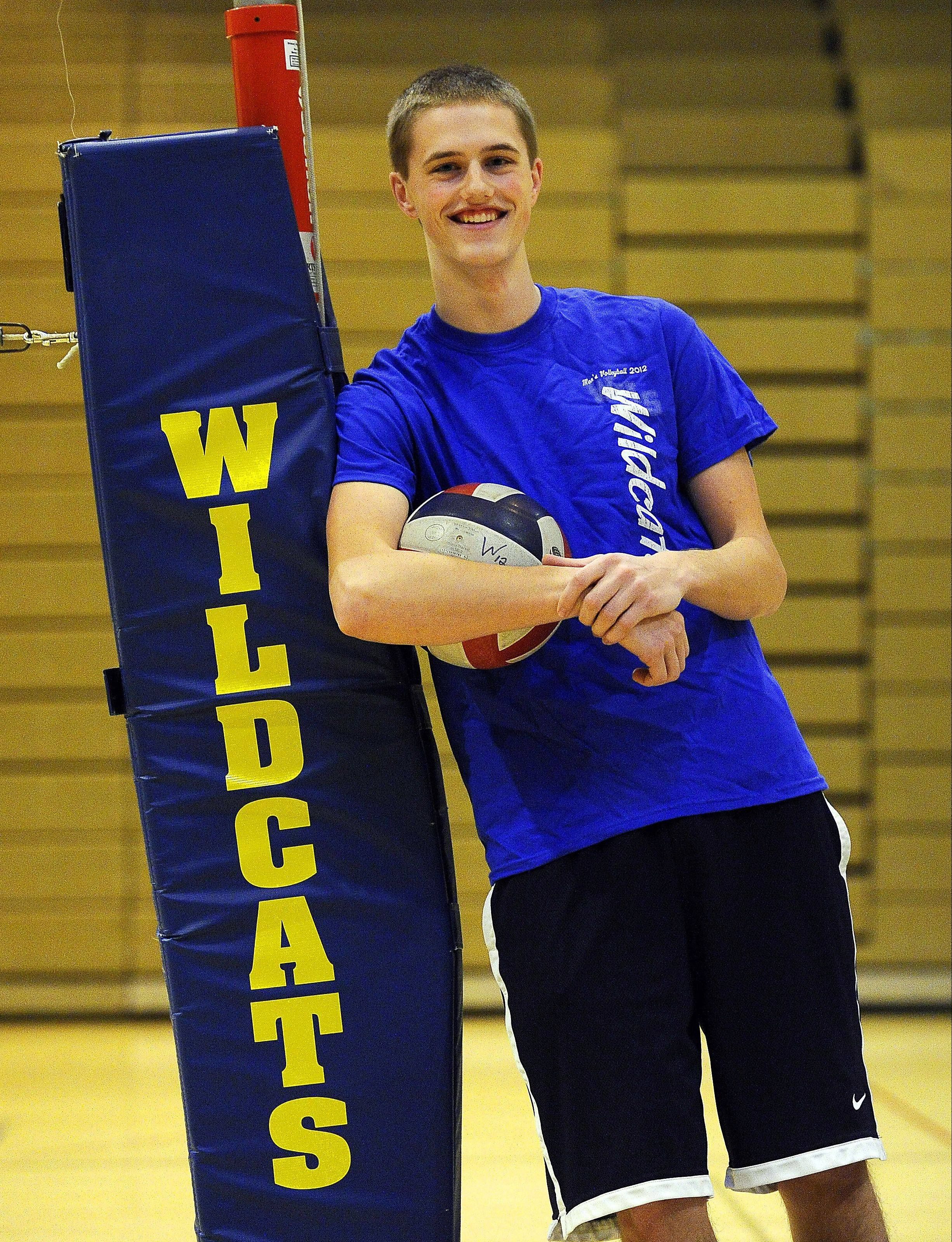 Zach Nauert is poised for a strong season at Wheeling in his senior year.