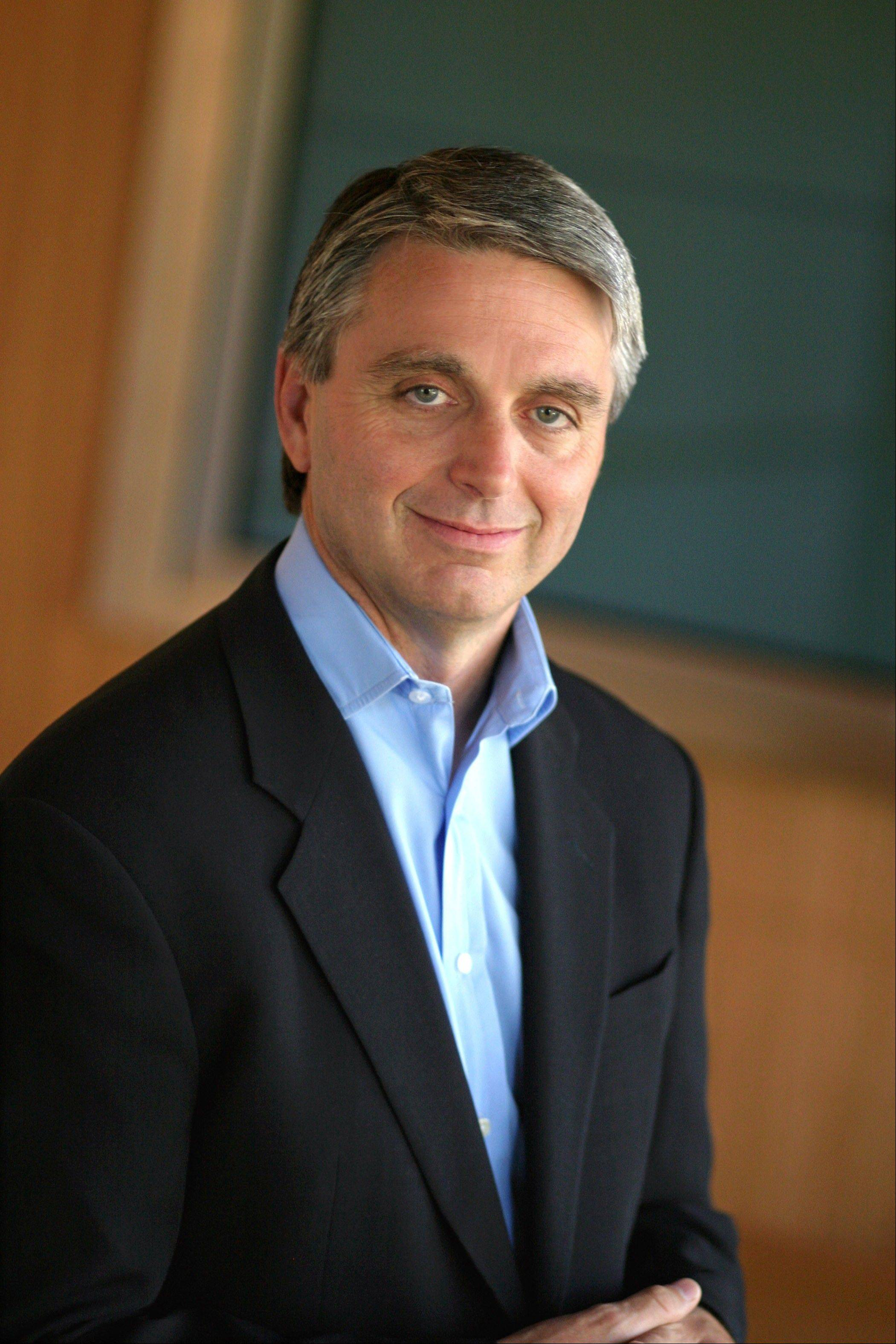 This 2005 photo released by Electronic Arts shows John Riccitiello in Menlo Park, Calif. Video game publisher Electronic Arts says its CEO, John Riccitiello, will step down on March 30. Electronic Arts Inc. said Monday, march 18, 2013 that it has named Larry Probst as executive chairman while it searches for a replacement.