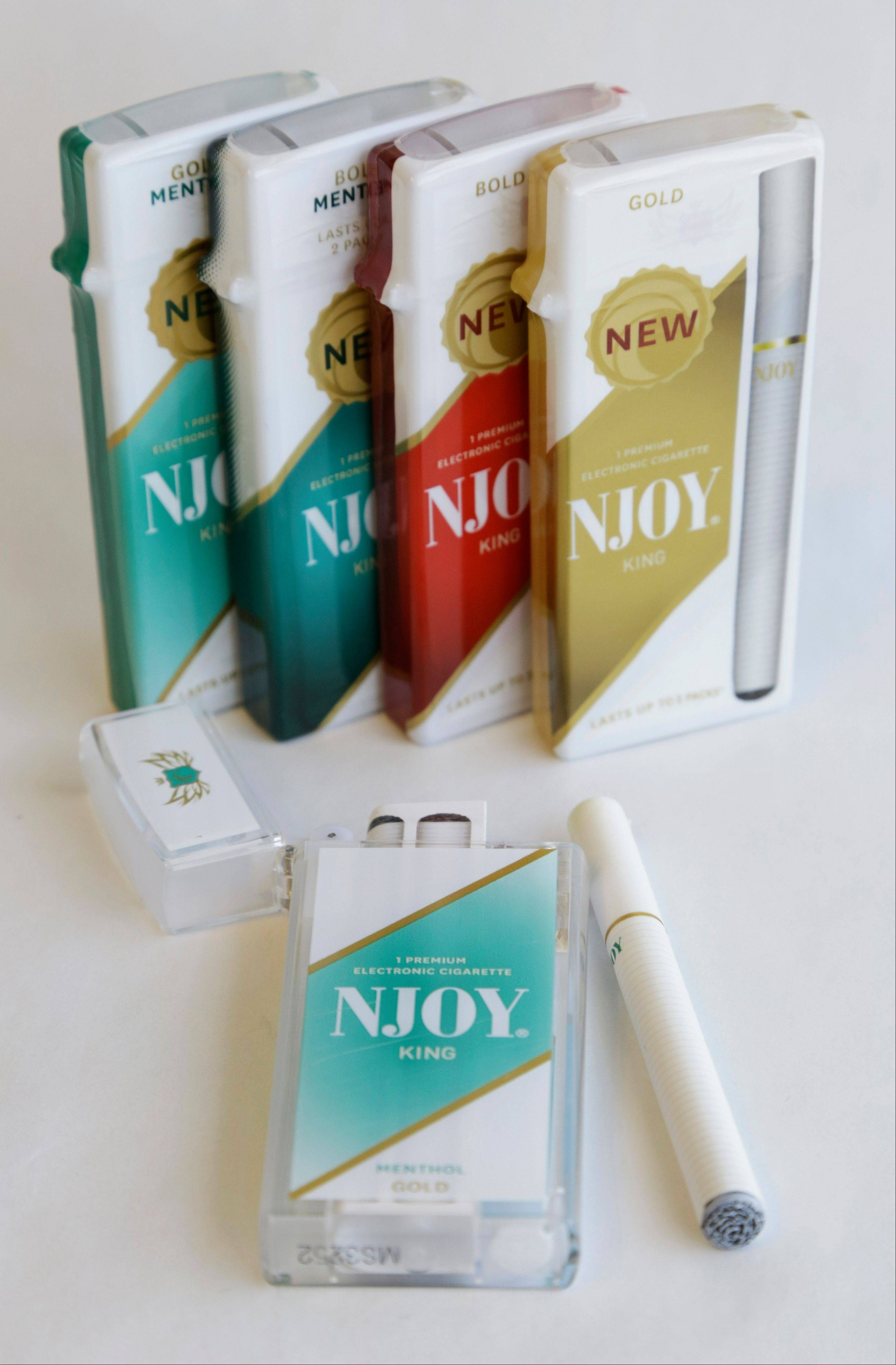 Several different versions of the NJOY electronic cigarettes are seen. Former U.S. Surgeon General Richard Carmona, who highlighted the dangers of secondhand smoke and supported a ban on all tobacco products, is joining the board of directors for NJOY Inc., the nation�s leading electronic cigarette company � a move that could bring increased legitimacy to e-cigarettes as a viable alternative to traditional cigarettes.