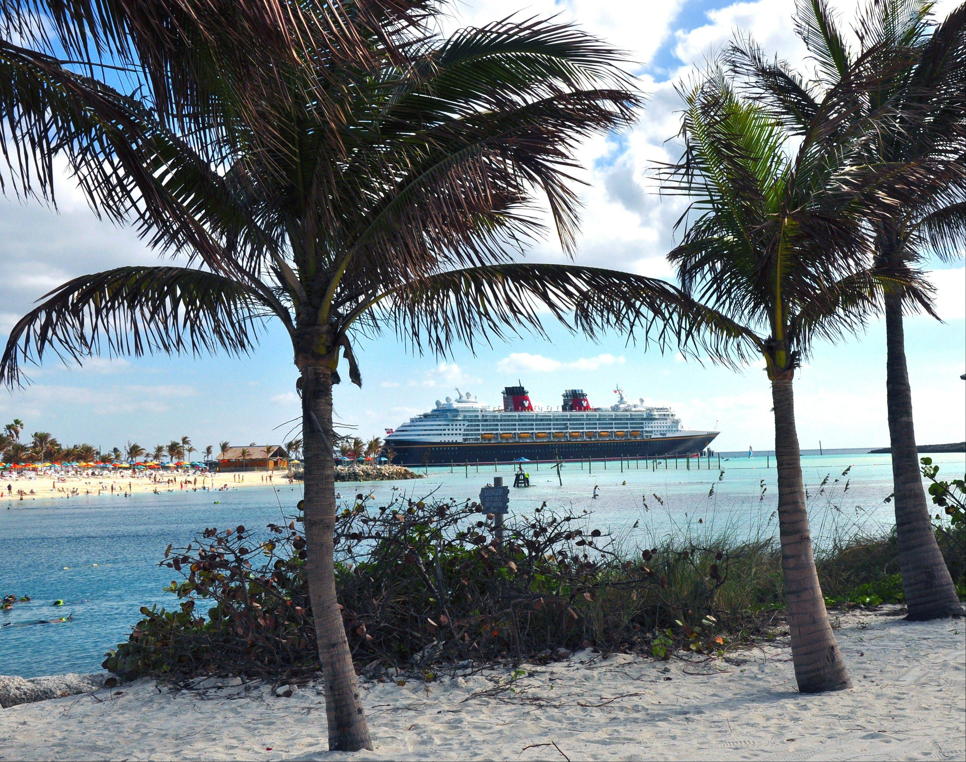 Castaway Cay is Disney Cruise Line's private island in the Bahamas. Passengers choose from the family beach areas or Serenity Bay restricted to ages 18 and older.