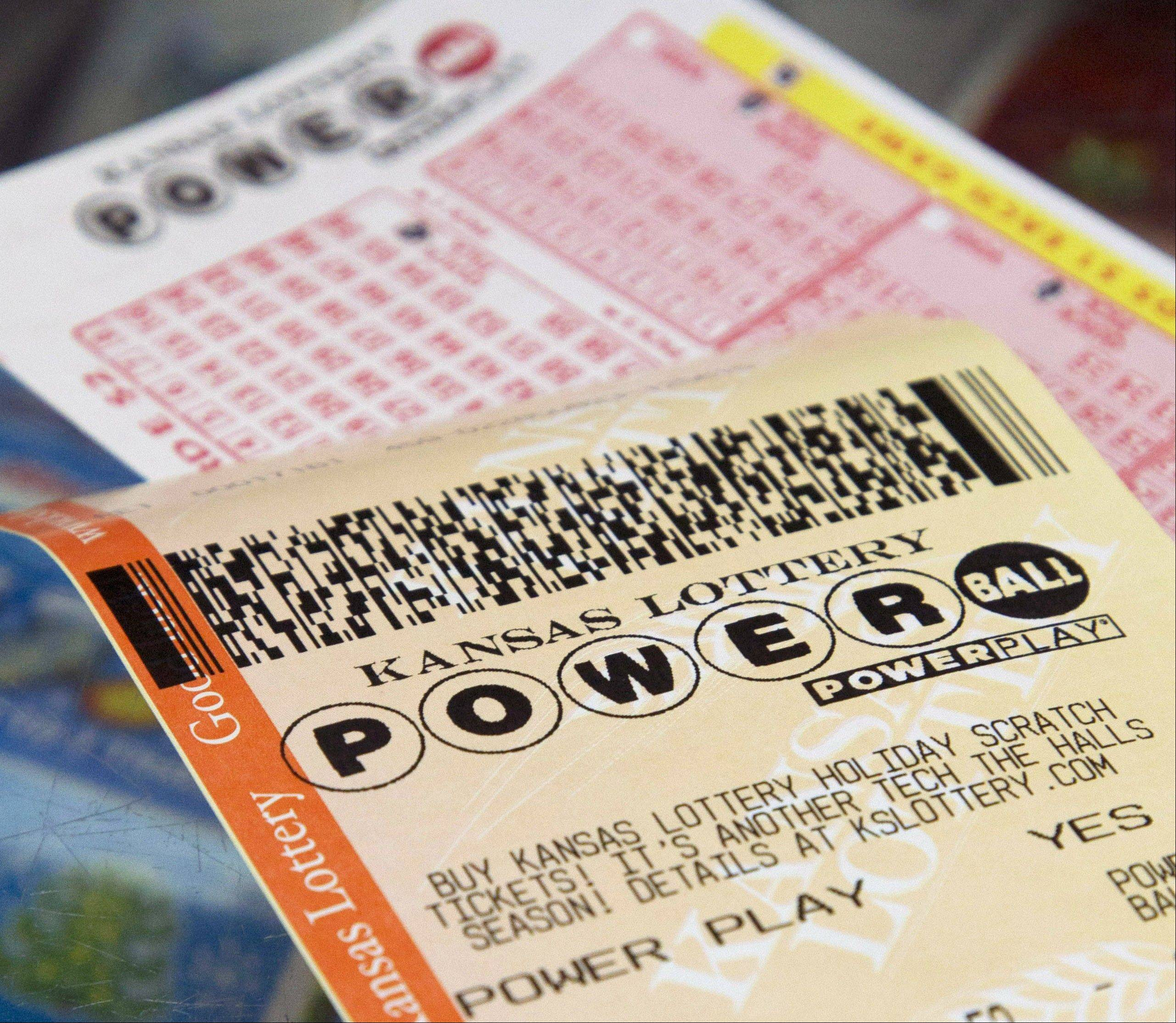 A single ticket sold in New Jersey matched all six numbers in the Saturday night drawing for the $338.3 million Powerball jackpot, lottery officials said.
