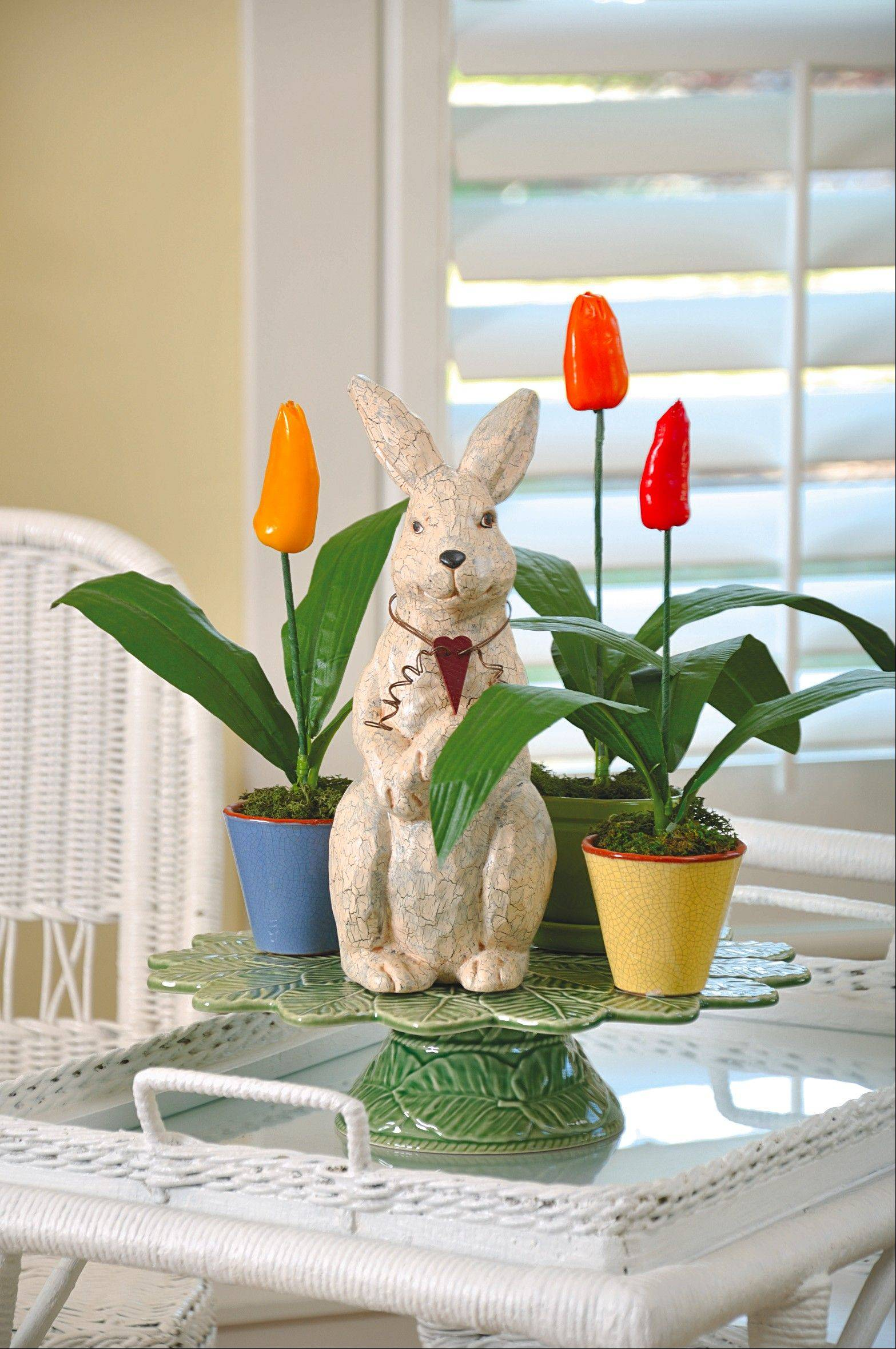 Rabbit by bit: Put something on a pedestal.
