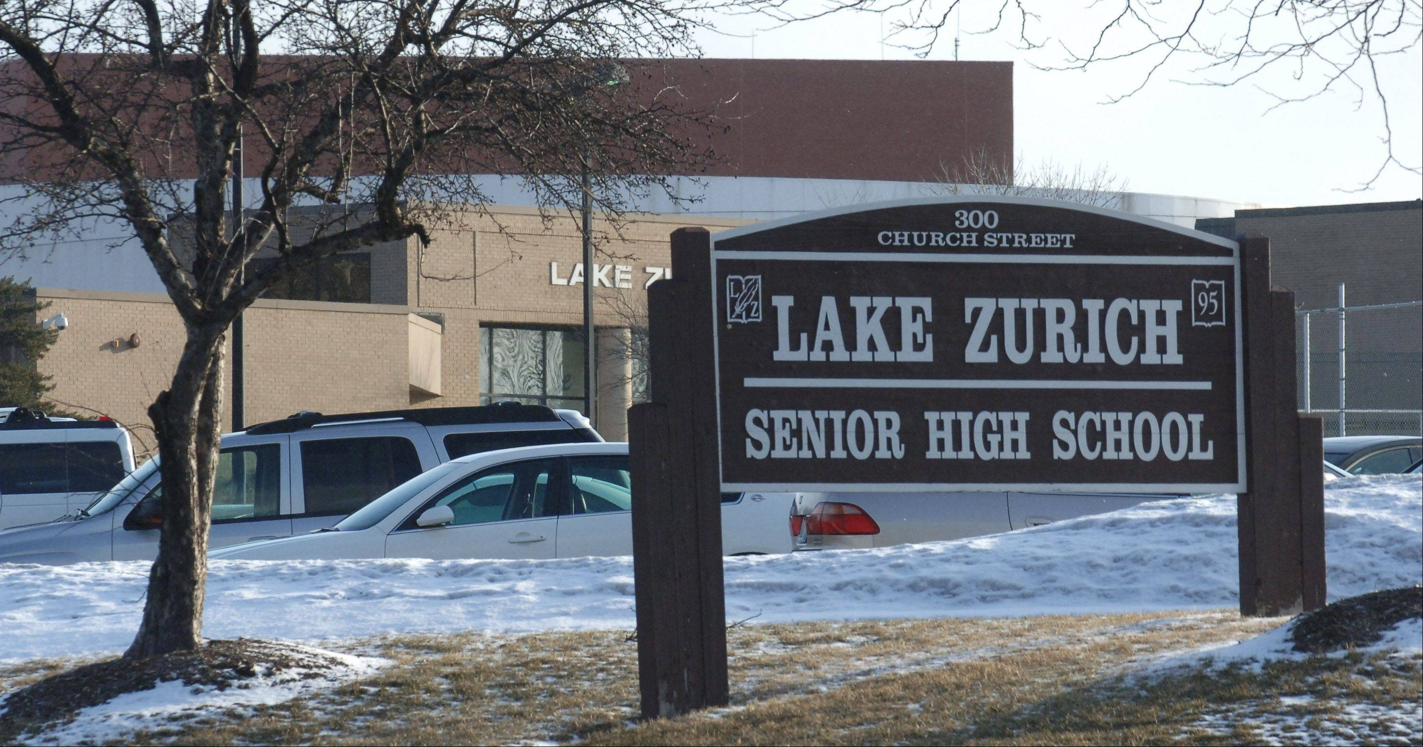 Lake Zurich Unit District 95 has settled one of two lawsuits claiming officials ignored complaints about inappropriate sexual conduct by a high school teacher toward a student about eight months before criminal charges were filed against him in 2010.