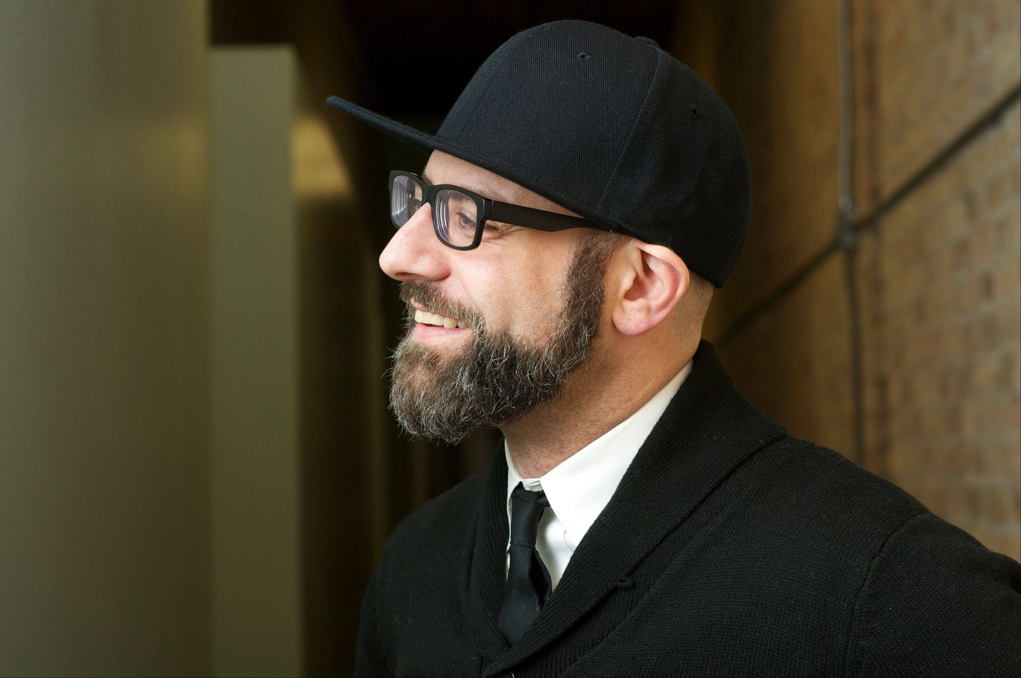 Poet Kevin Coval is appearing at Oakton Community College.