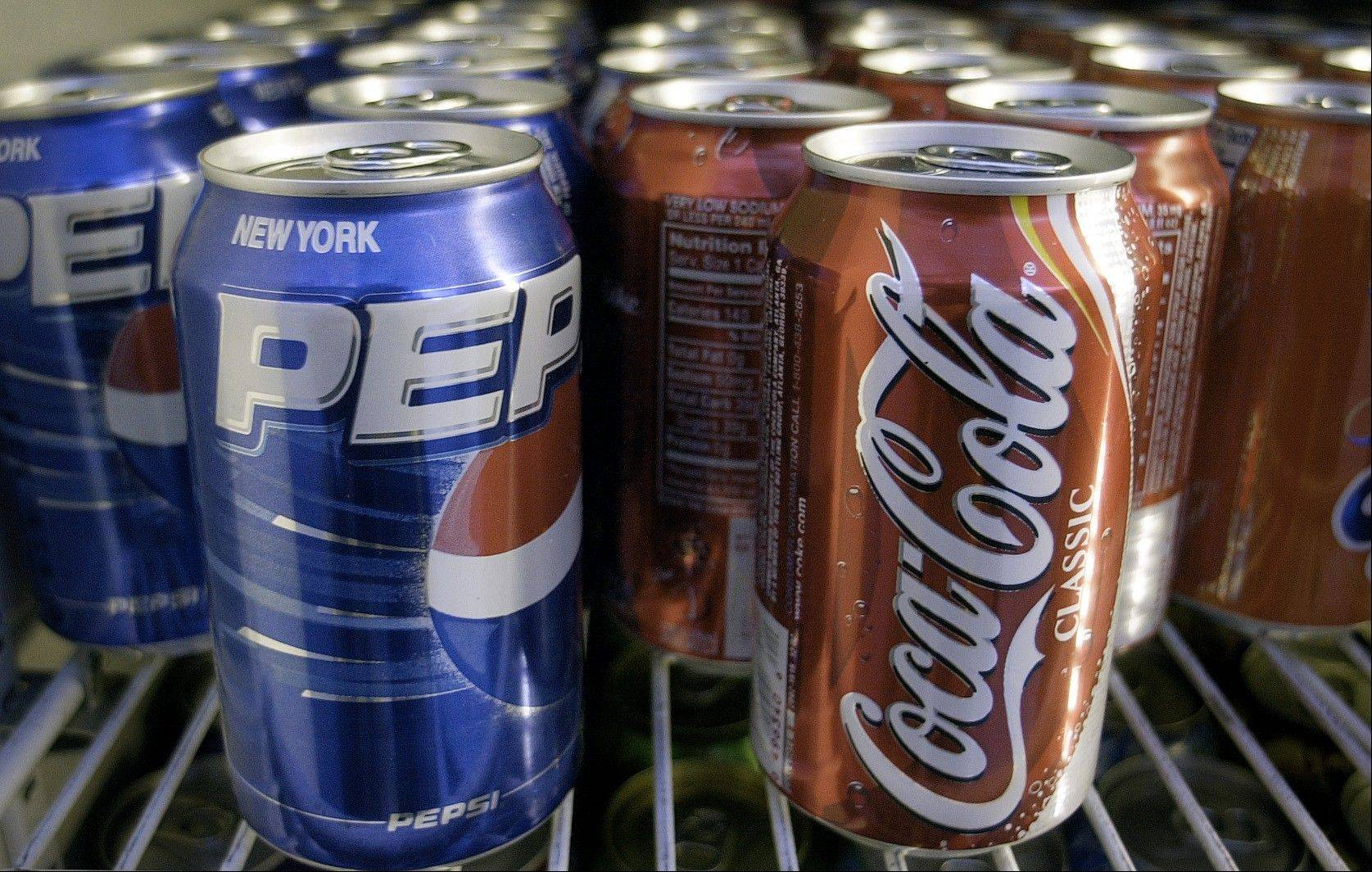 Americans� consumption of fizzy soft drinks, on the decline since 2005, fell last year to its lowest level since 1996.
