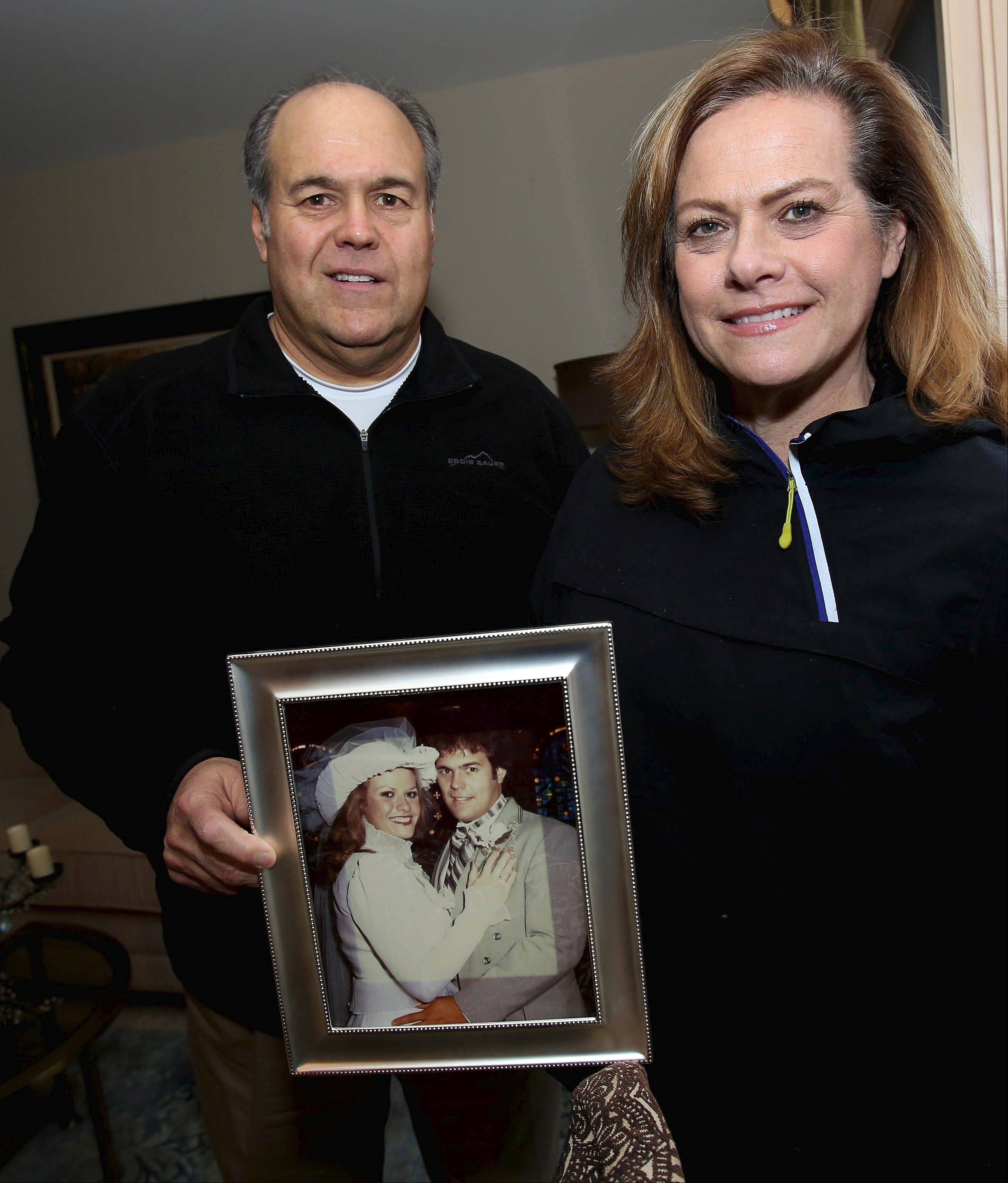 Mike Paulo is focused on a goal. He wants to get back to what he weighed when he married his wife, Donna, 31 years ago.