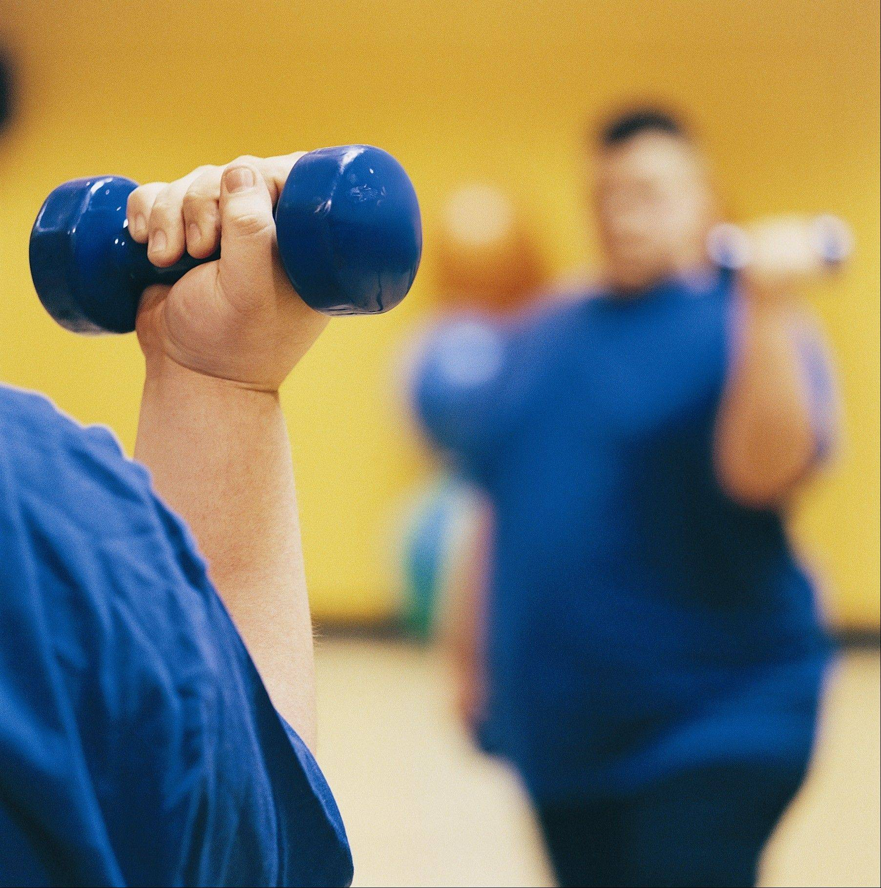 Exercising and building muscle is the best way to combat excess fat that might harm your health.