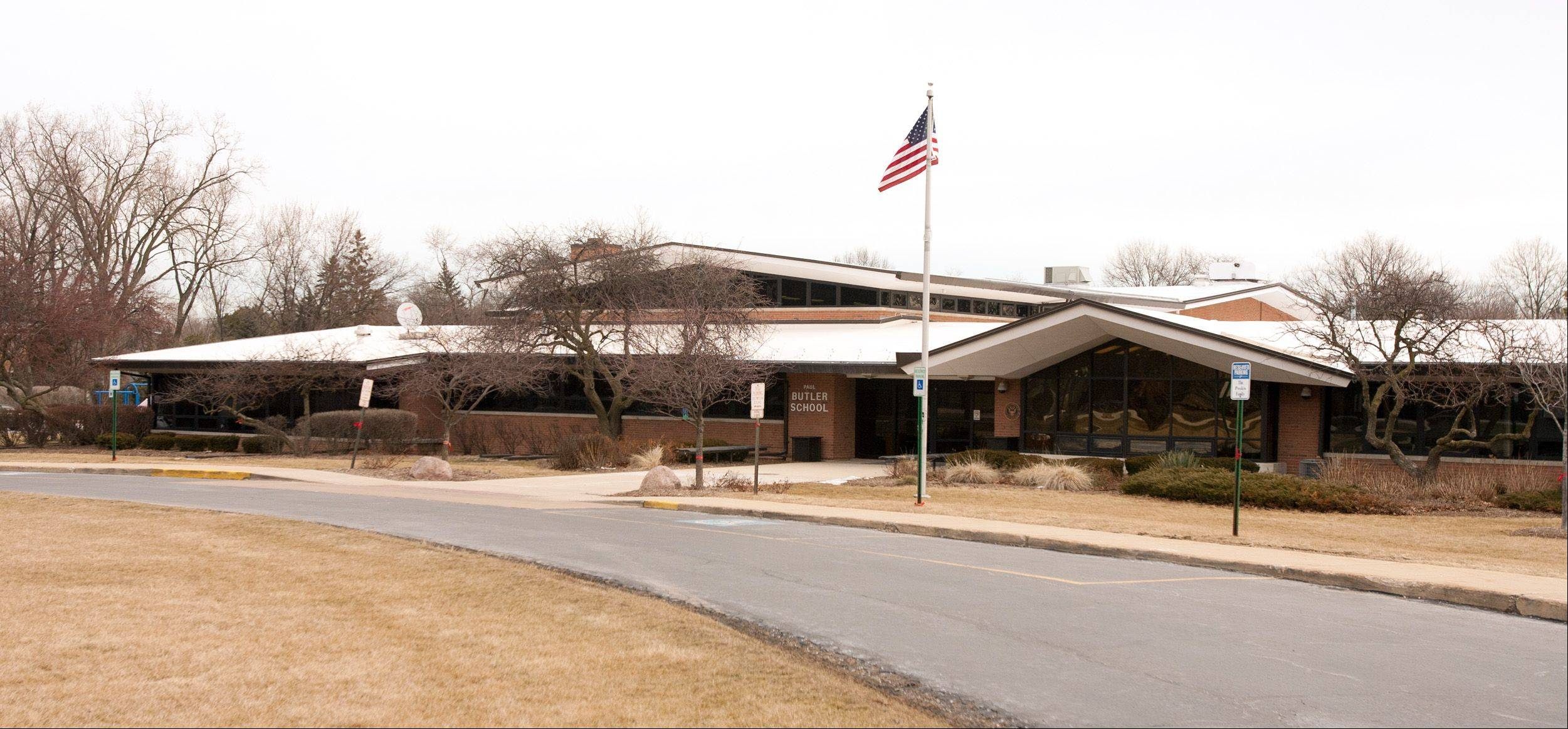 Butler Junior High, built in 1958, is one of two schools that could be consolidated into one new facility under a plan for which District 53 is seeking voter approval.