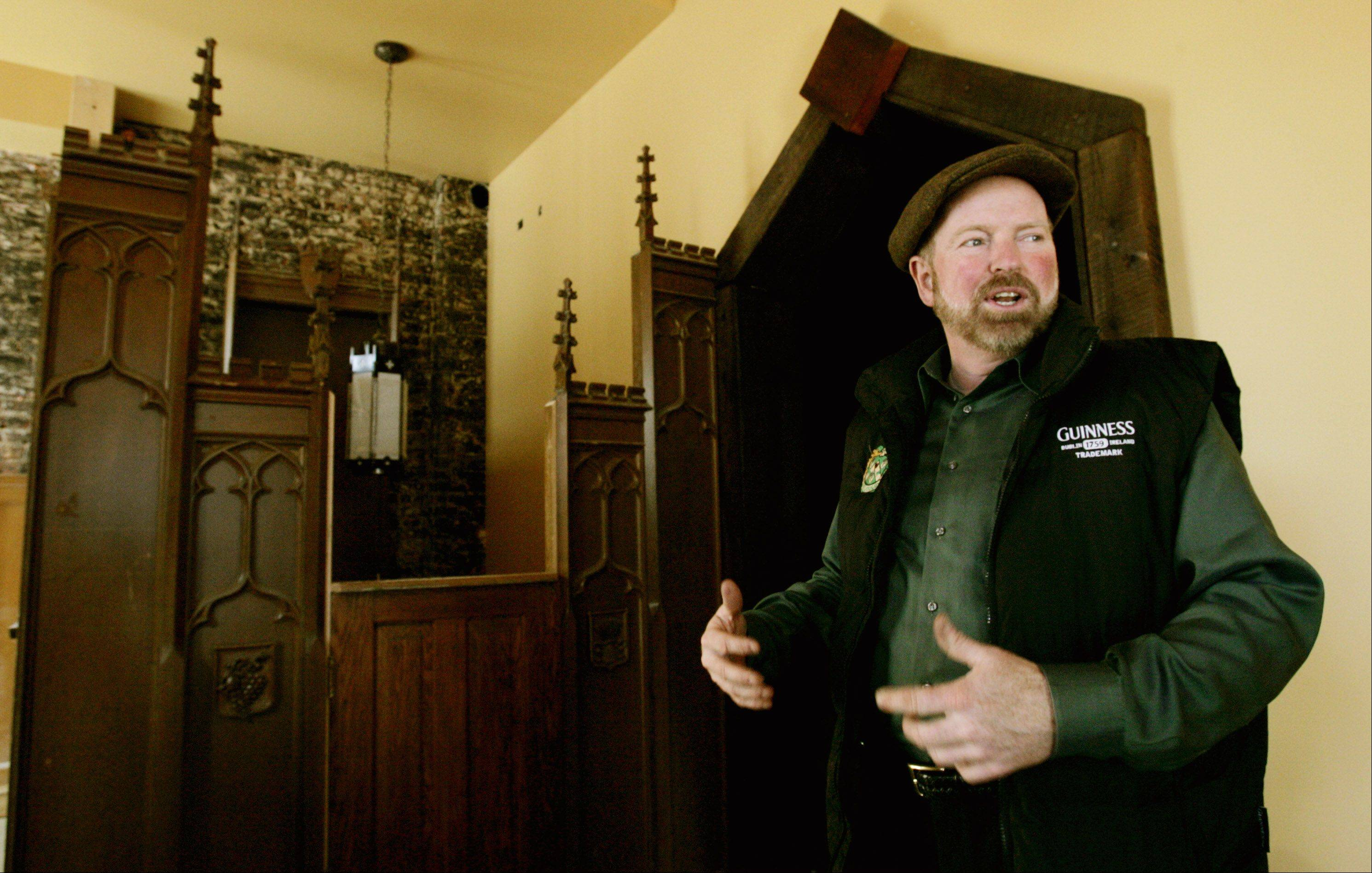 Phil Cullen, owner of Ballydoyle Irish Pub & Restaurant, is looking to expand the Ballydoyle franchise into downtown Naperville.