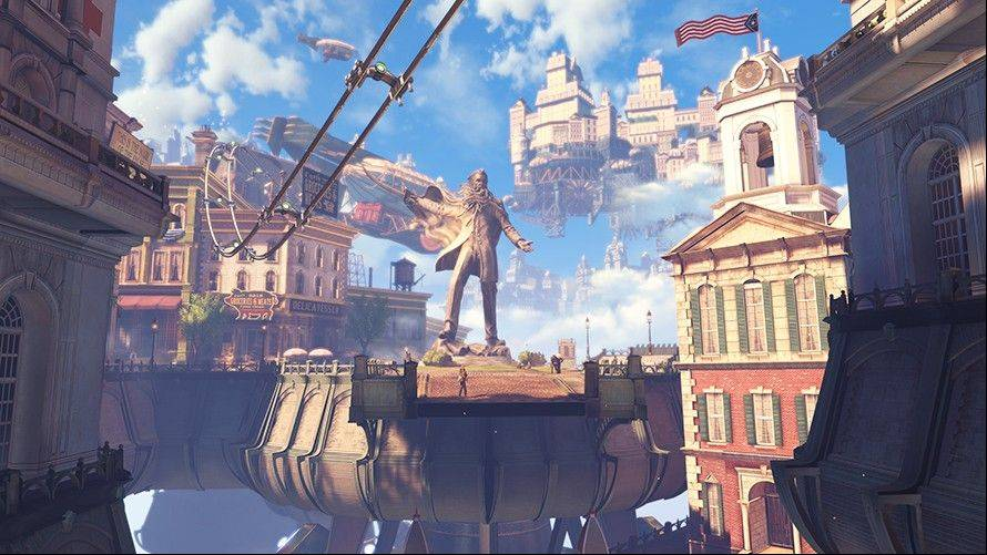 Brilliant 'BioShock Infinite' takes flight