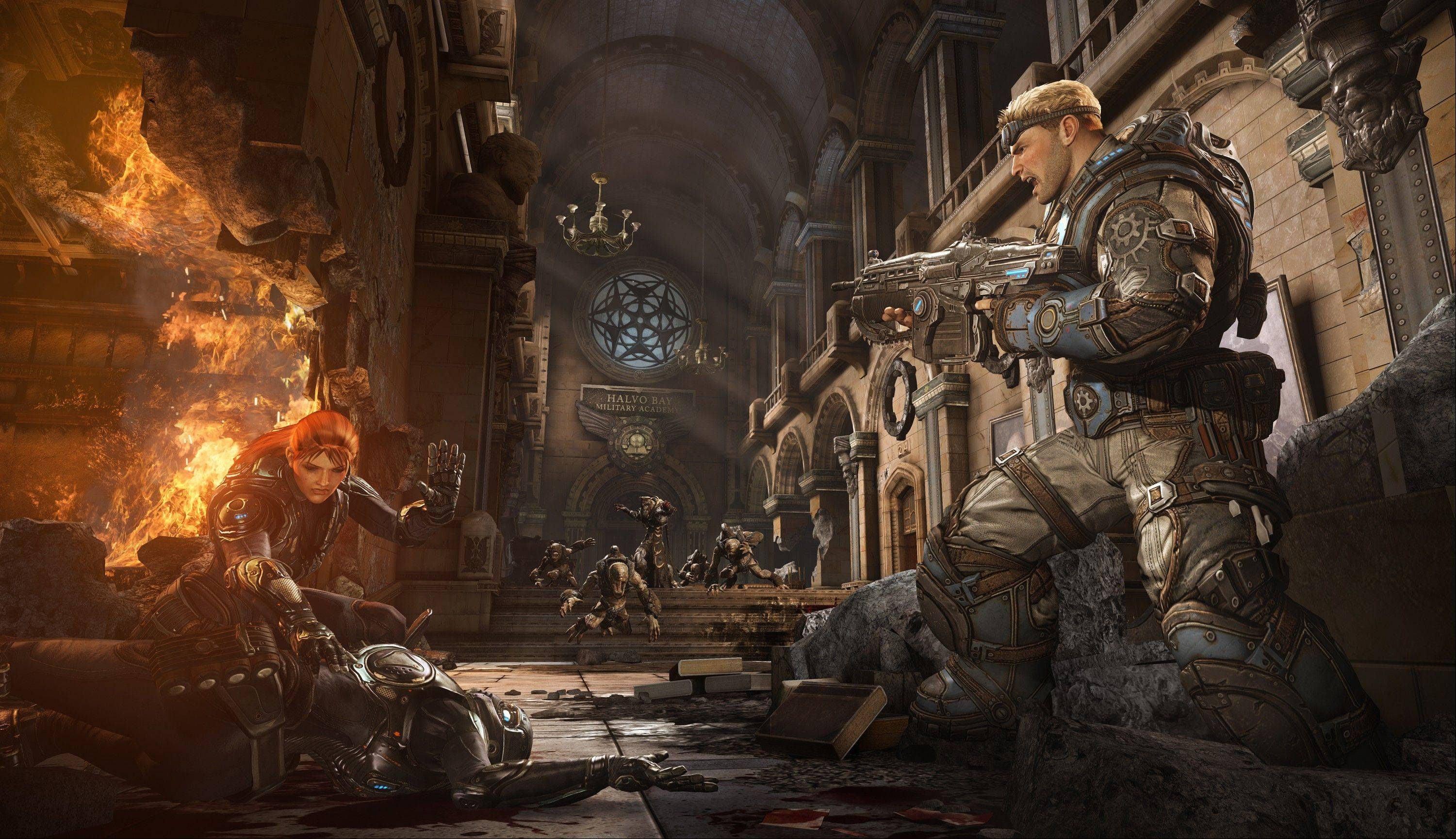 "The great strength of ""Gears of War: Judgment"" remains its cover-based shooting."