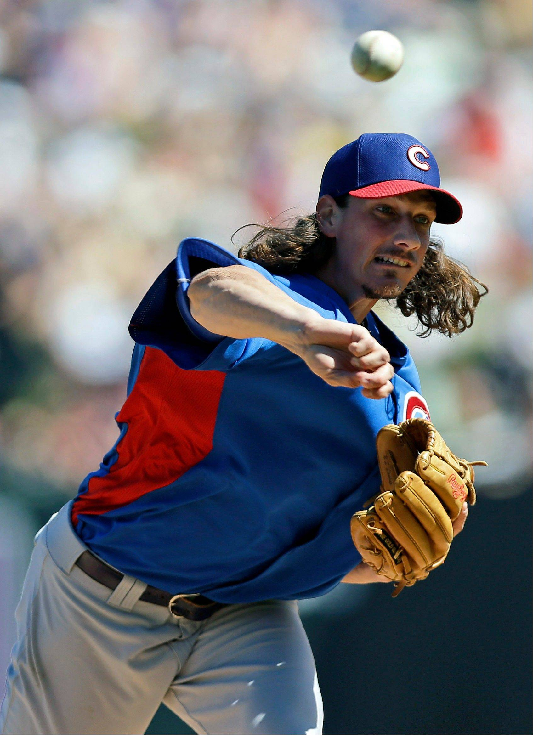 Jeff Samardzija gets the opening-day start Monday when the Cubs visit the Pirates.