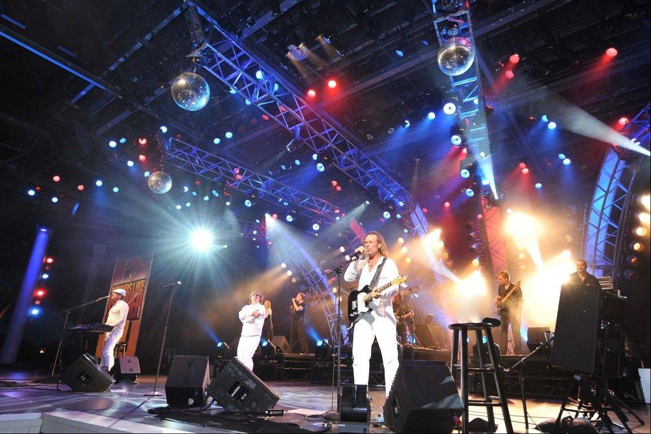 "The tribute act ""Stayin' Alive"" celebrates the music of the Bee Gees when it comes to the Paramount Theatre in Aurora on Saturday, March 30."