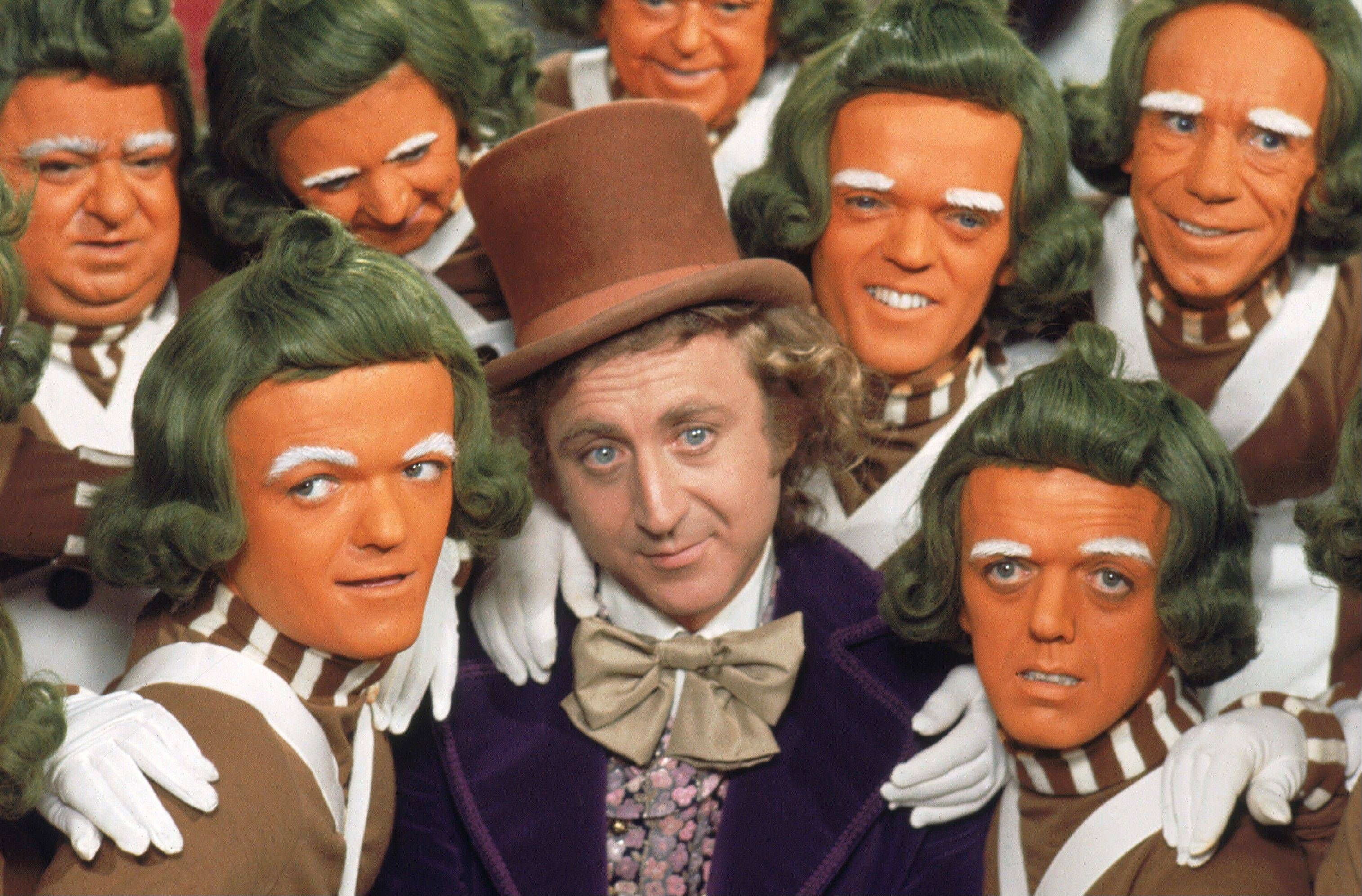 "See Gene Wilder and the Oompa Loompas in the 1971 film ""Willy Wonka and the Chocolate Factory,"" which receives a screening at the Music Box Theatre in Chicago on Sunday, March 31."