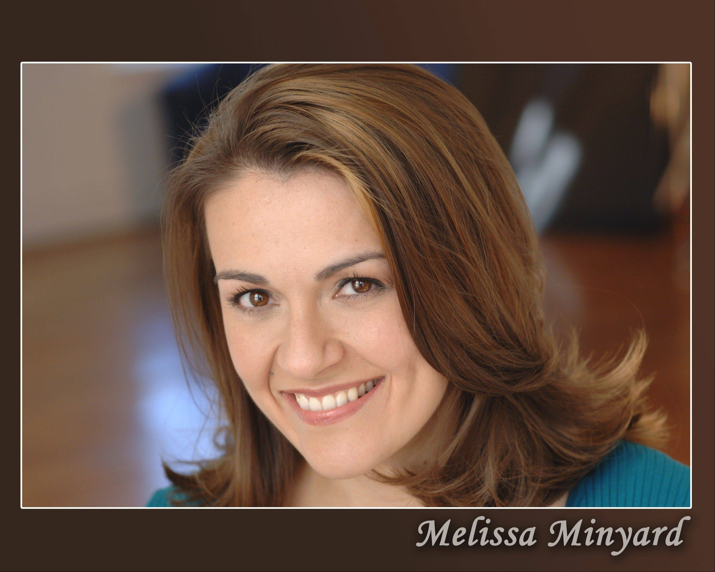 "Broadway veteran Melissa Minyard performs her musical revue ""I Dreamed a Dream: From Boca to Broadway"" on Wednesday, April 3, at the Metropolis Performing Arts Centre in Arlington Heights."