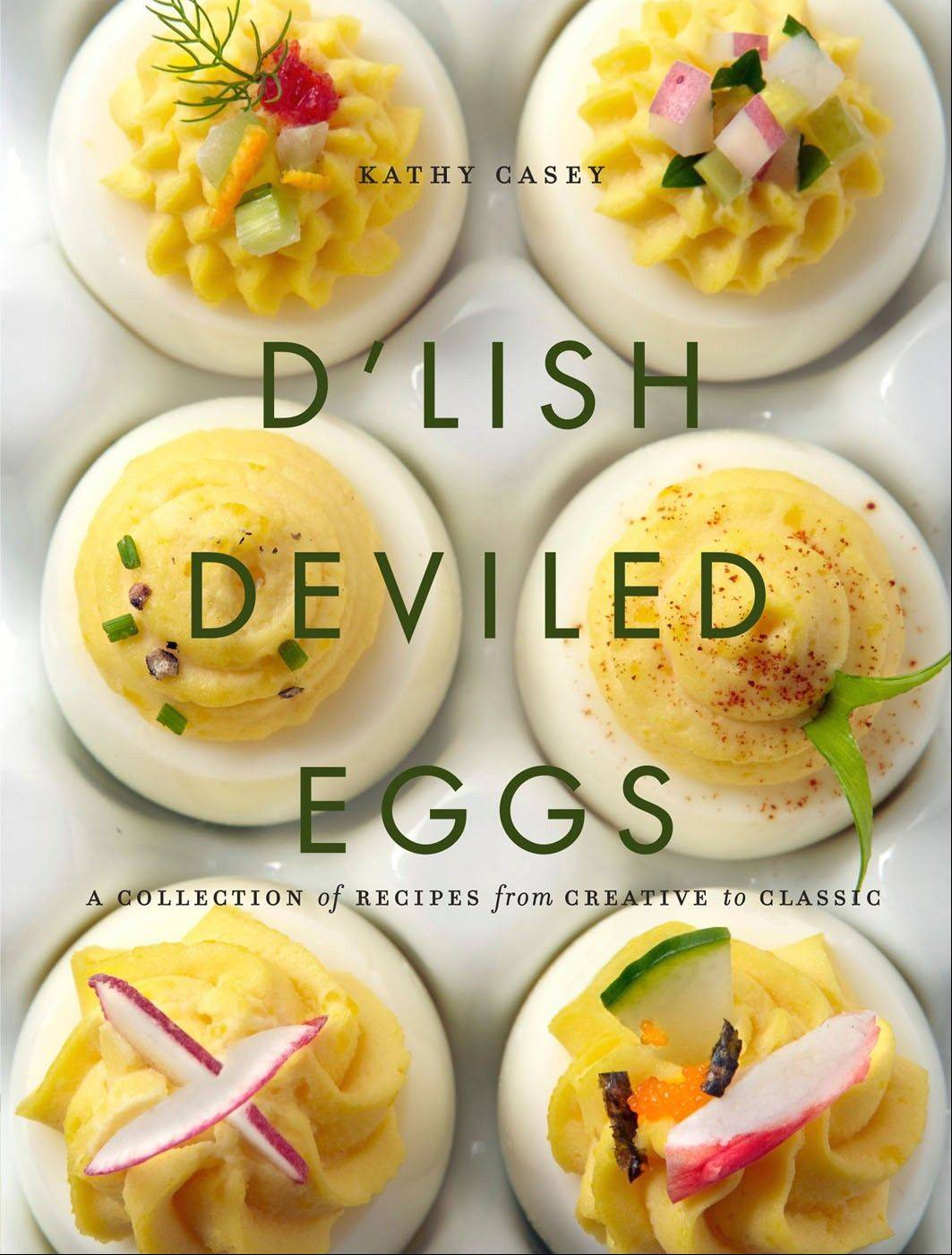 Garnishes, extra ingredients make deviled eggs downright heavenly