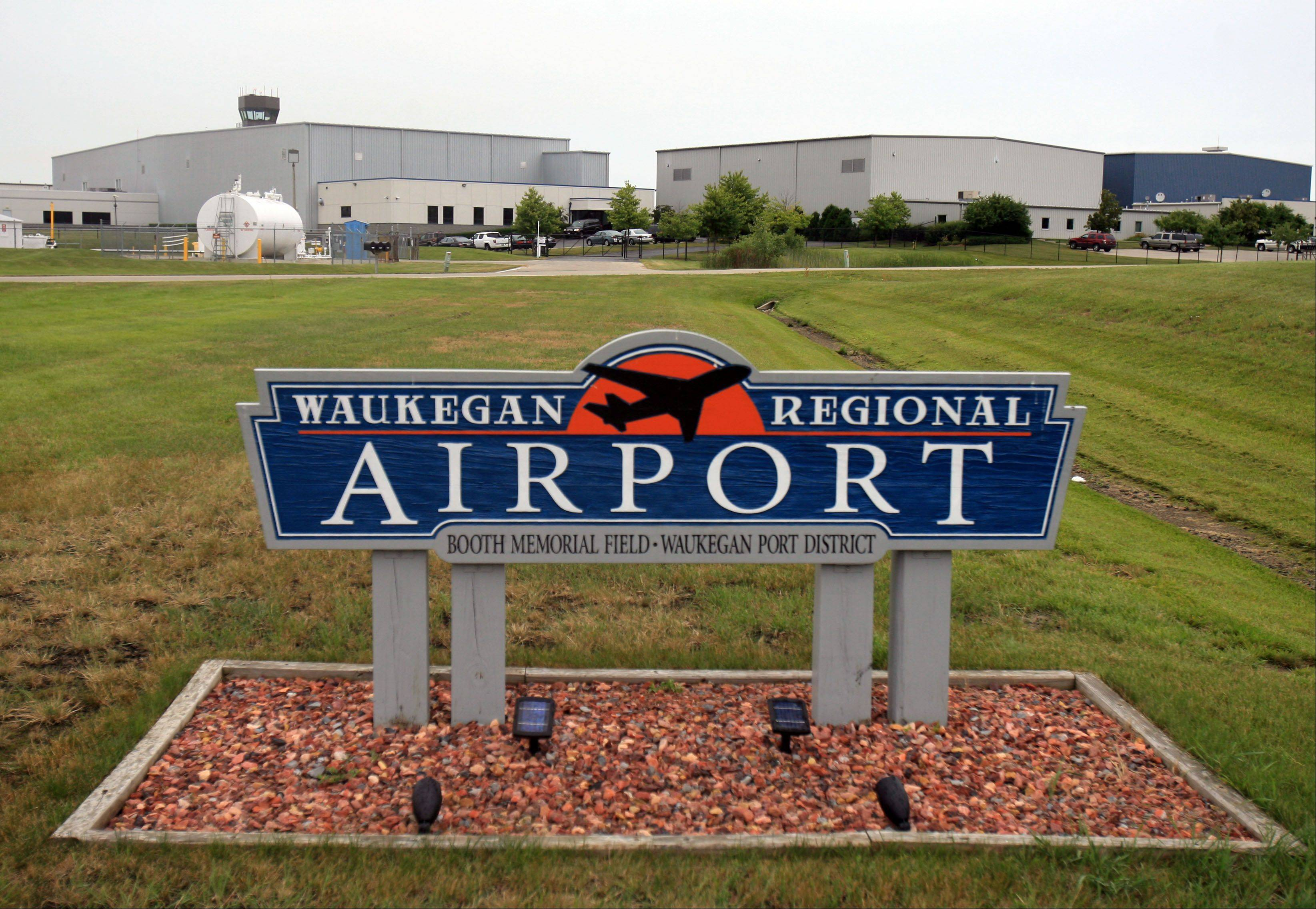 Daily Herald File Photo The control tower at Waukegan Regional Airport is set to close May 5.