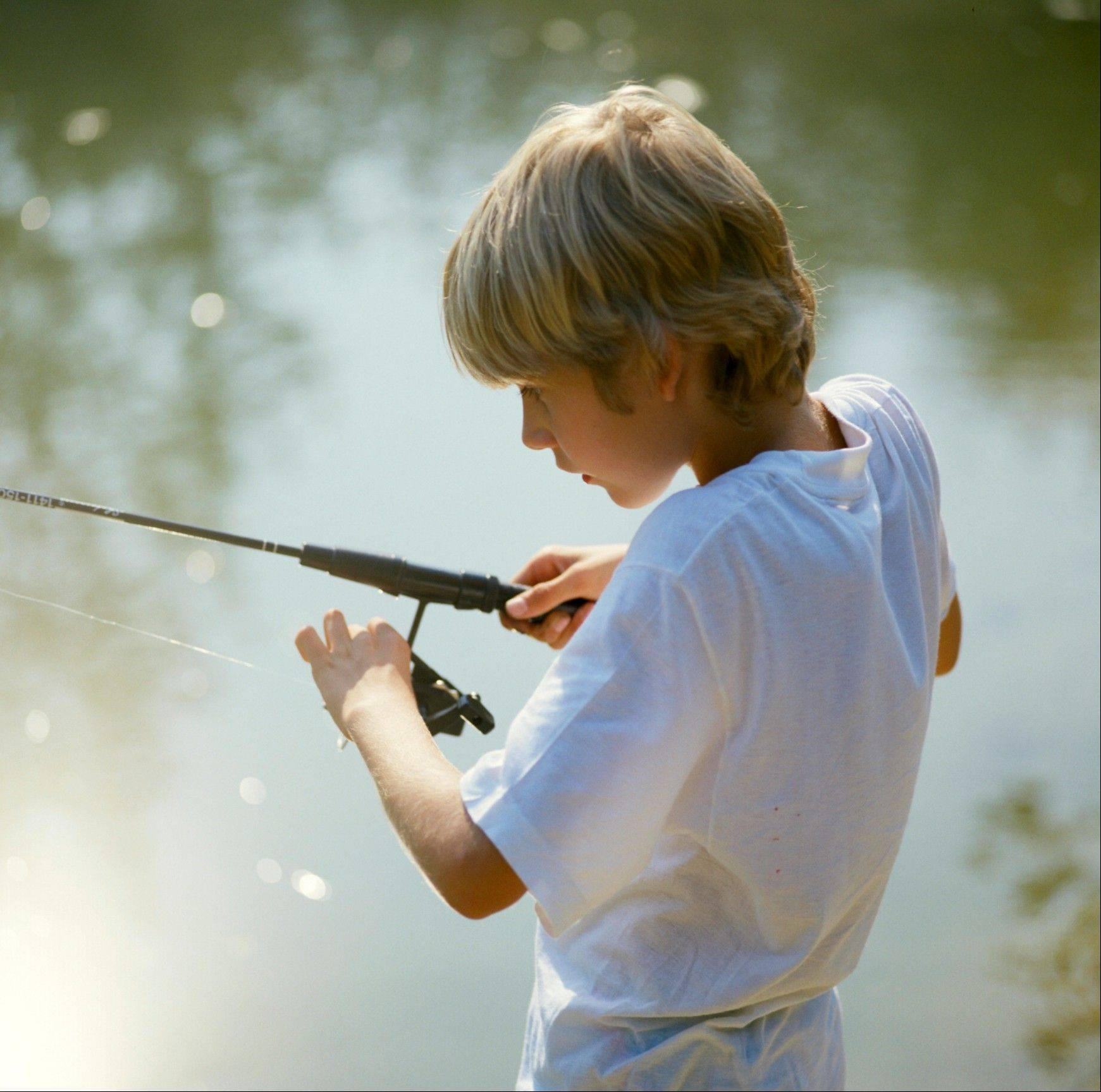 "Kids 15 and younger can try their hand at catching rainbow trout at the annual ""Trout Fishing for Kids"" event at the Wood Dale Grove Forest Preserve in Wood Dale."
