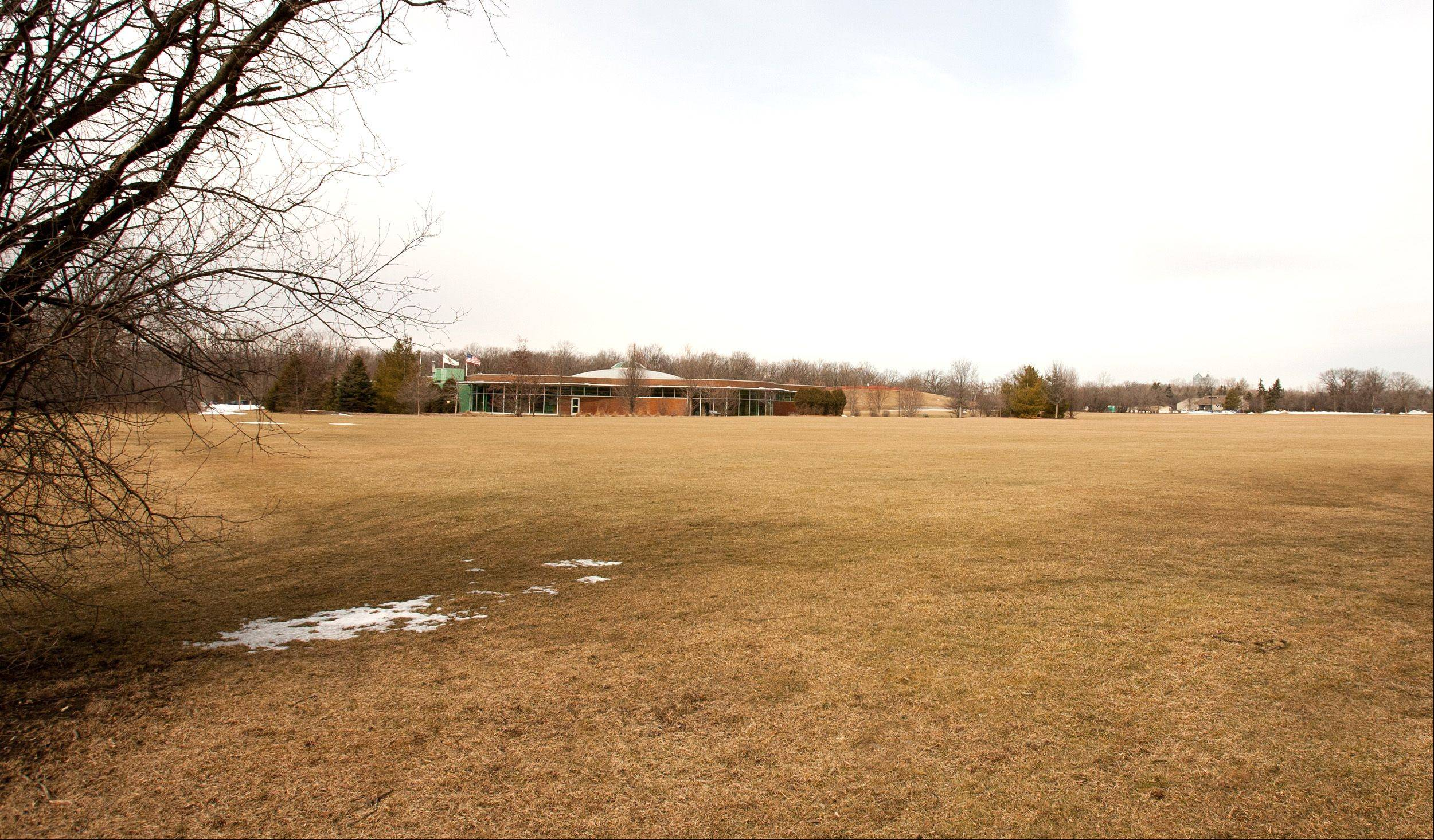 The proposed site of the new school Butler Elementary District 53 wants to build is just east of the Oak Brook Public Library, along 31st Street on village-owned Sports Core land. Voters in the April 9 election will be asked whether 8.5 acres of the land should be sold to allow construction of the school.