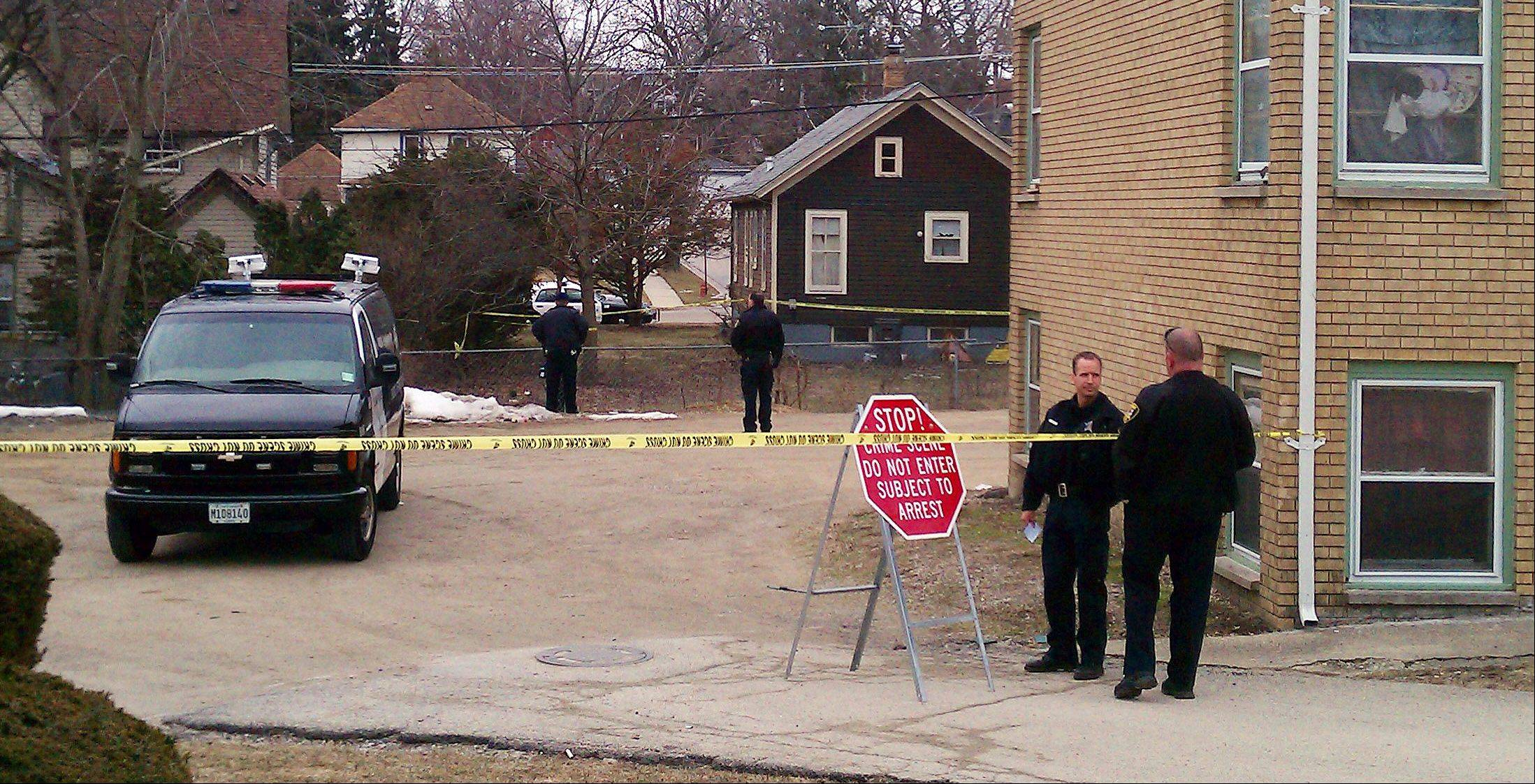 Elgin police continued Wednesday to investigate a homicide they said occurred about 9:25 p.m. Tuesday in the 200 block of Silver Court.