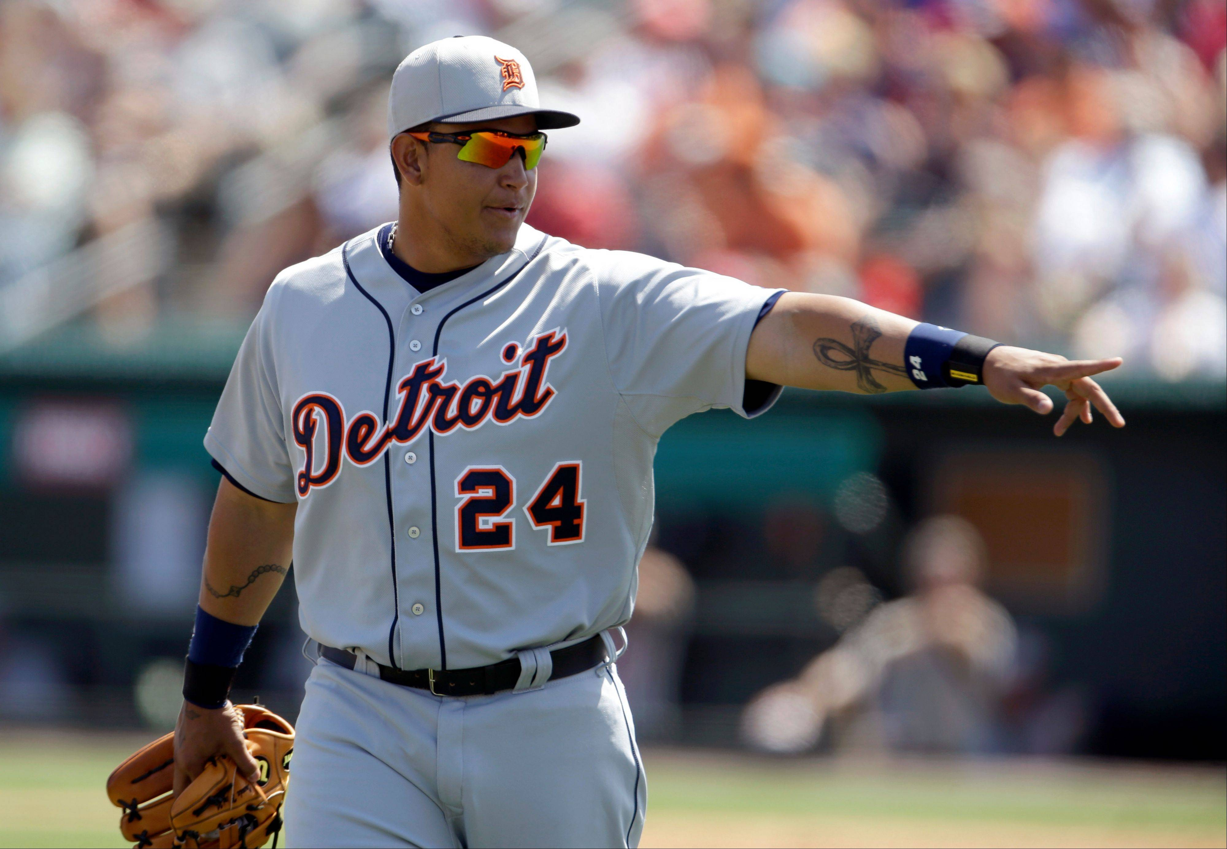 Triple Crown winner Miguel Cabrera and the Tigers will be tough to top this season.