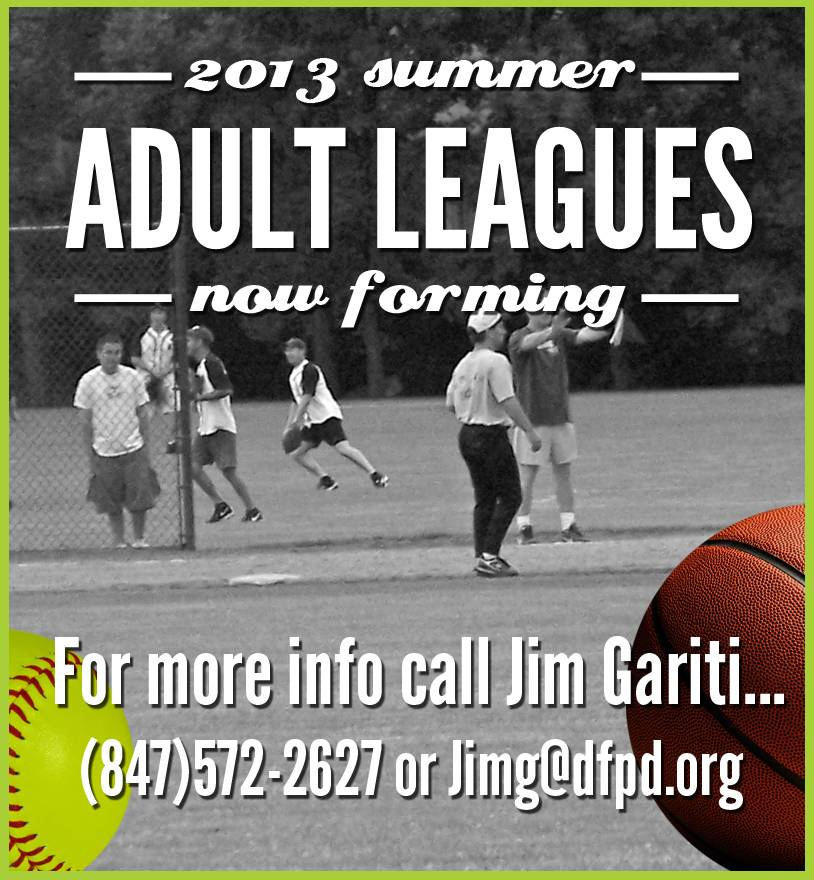 Adult Leagues Forming