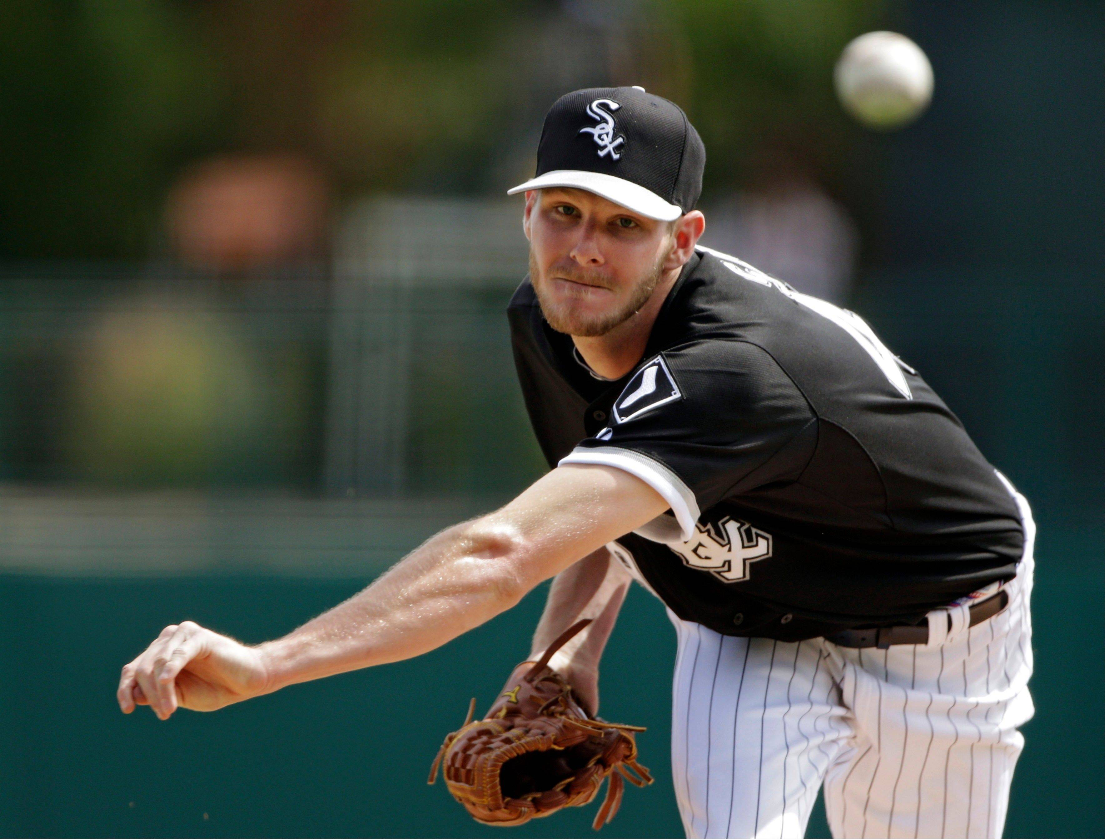 Chris Sale will be on the mound Monday when the White Sox open the season against the Kansas City Royals at U.S. Cellular Field.