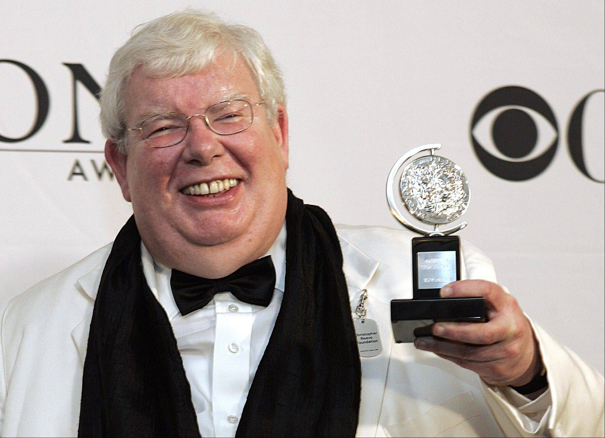 "Richard Griffiths, the British actor who played the boy wizard's unsympathetic Uncle Vernon in the ""Harry Potter"" movies, has died. He was 65."