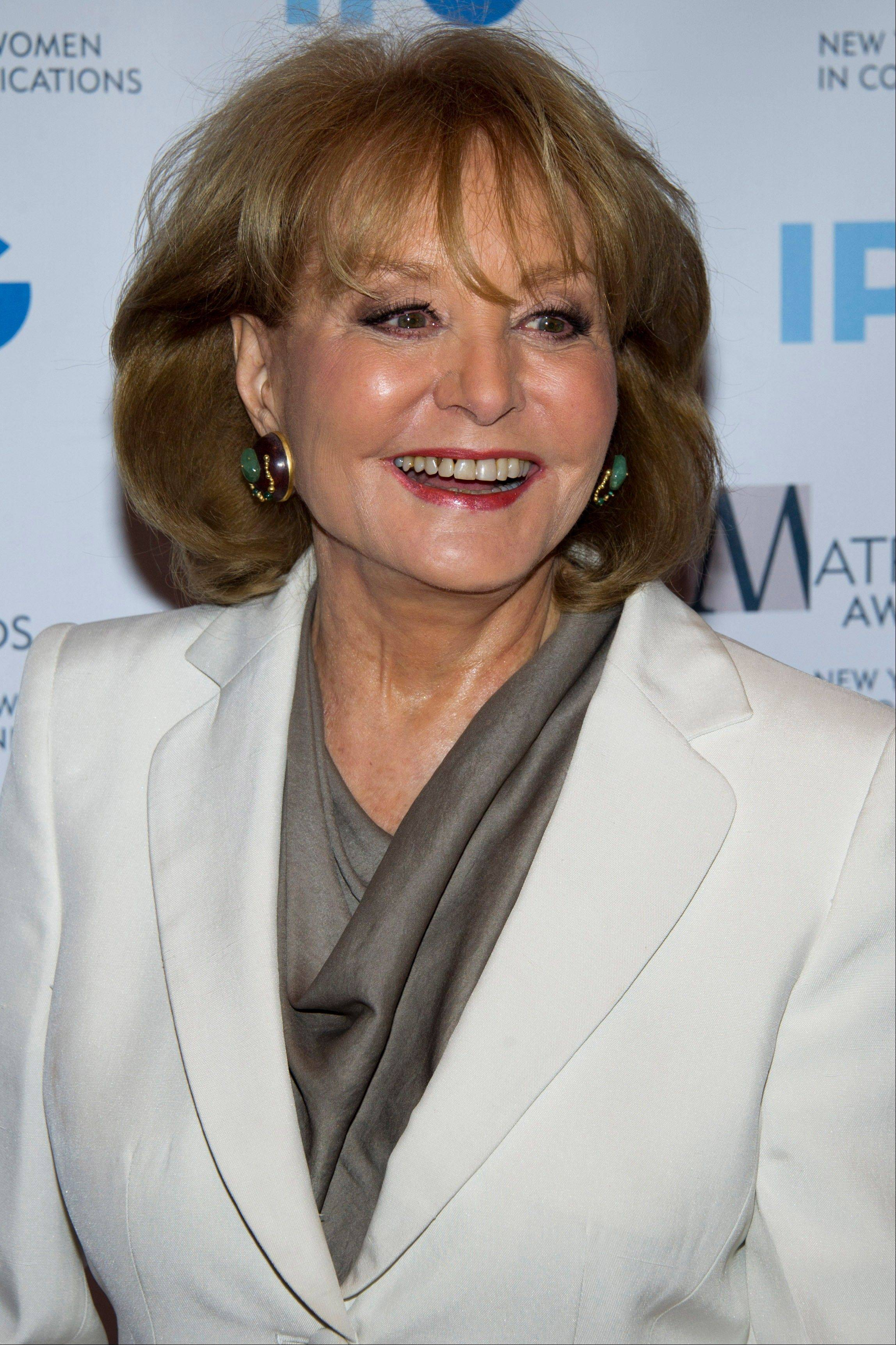 Barbara Walters plans to retire next year, ending a television career that began more than a half century ago and made her a trailblazer in news and daytime TV.