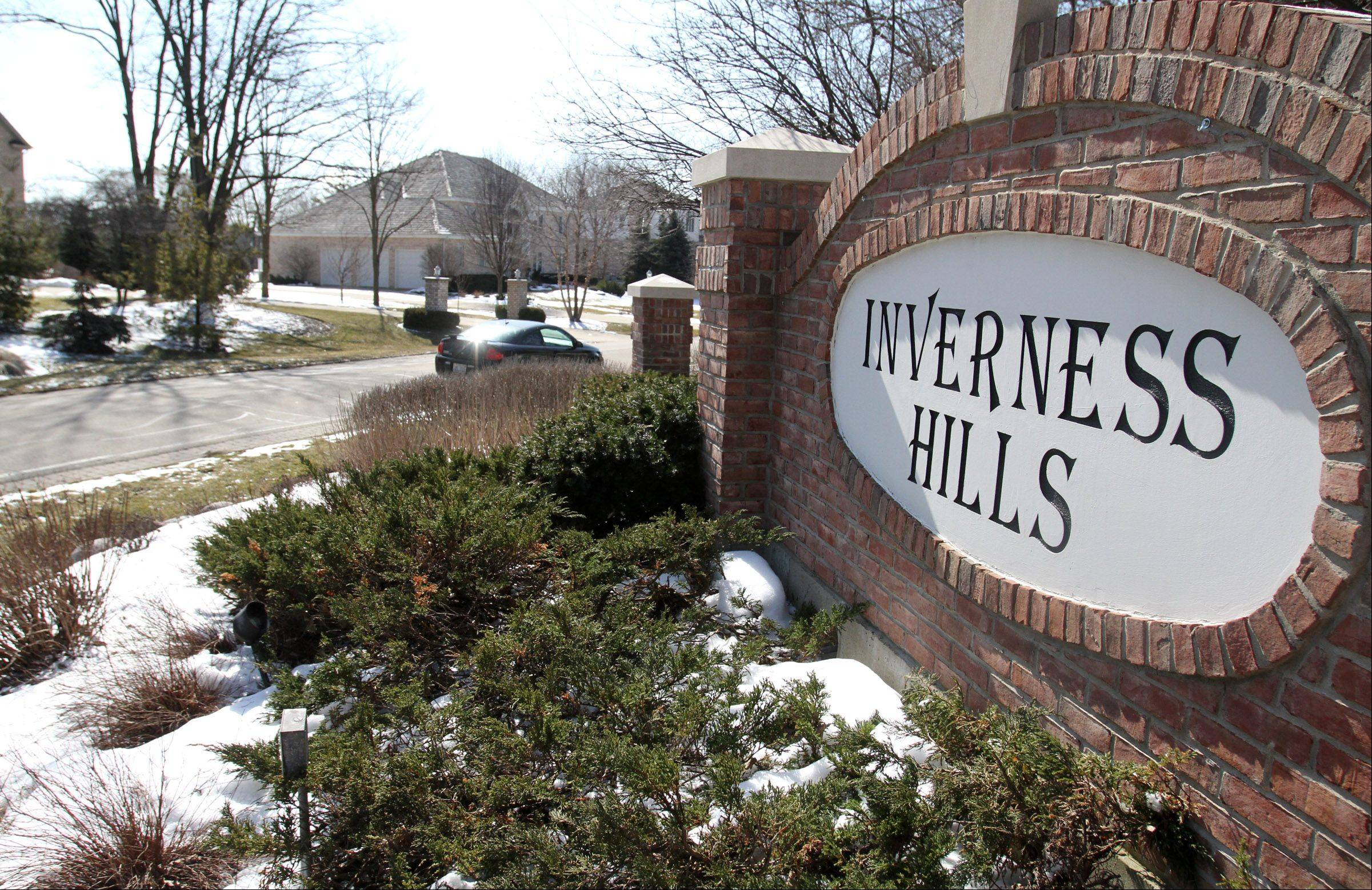 The Inverness Hills neighborhood was largely built in the 1980s when large homes were going up fast in Inverness.