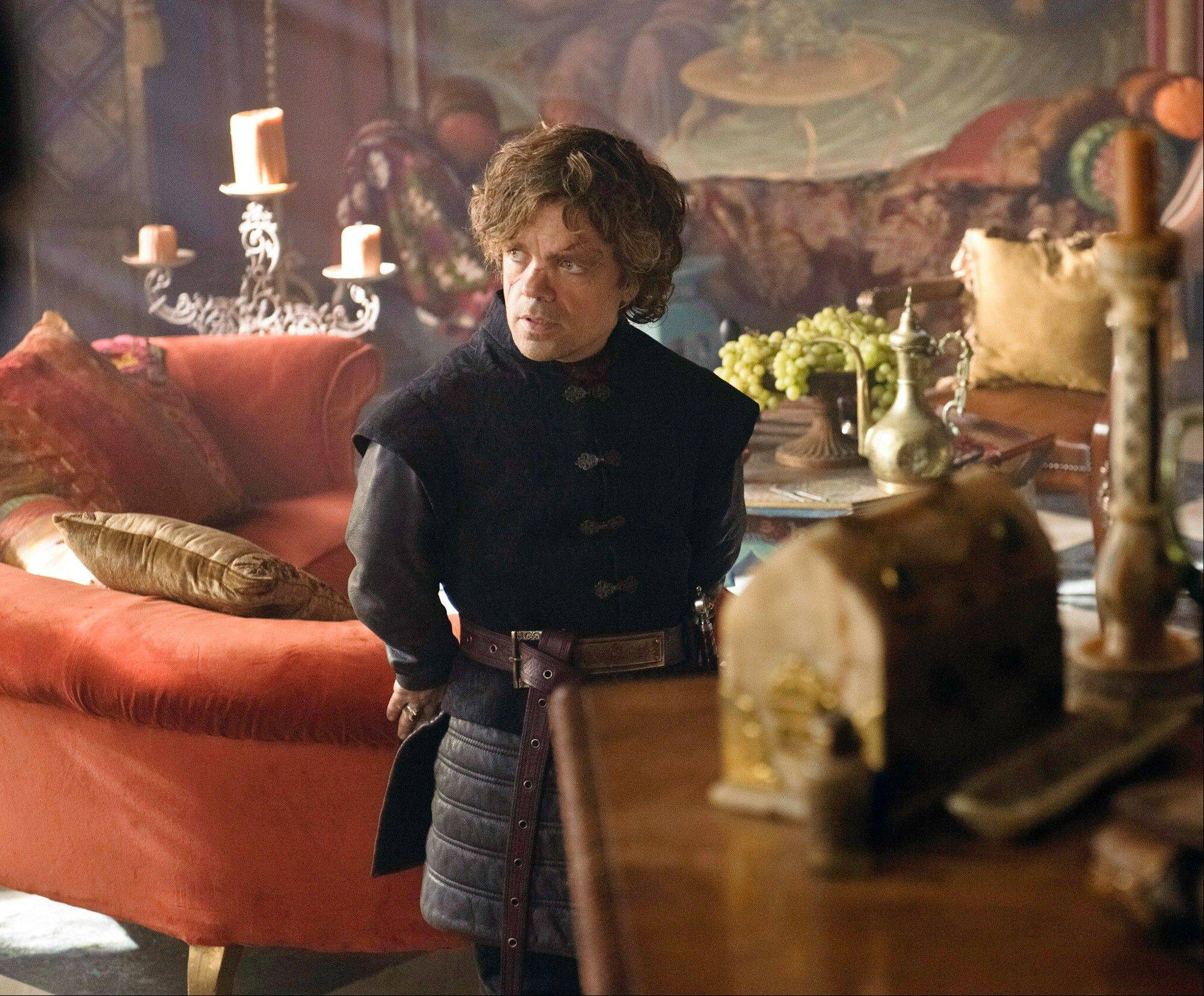 "Peter Dinklage portrays Tyrion Lannister, who saved King's Landing from invasion, but received only scorn from his vainglorious father in ""Game of Thrones."""