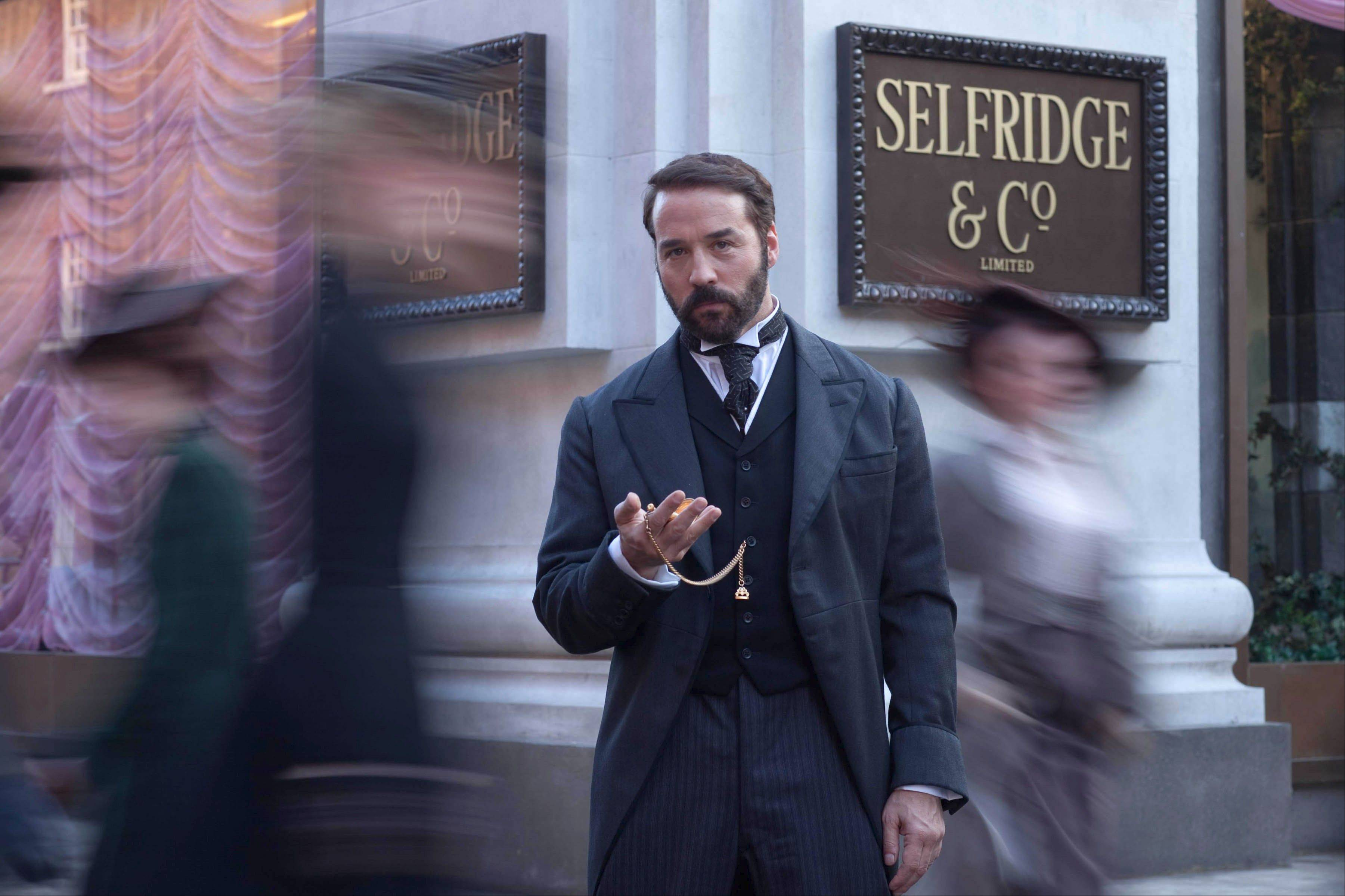 "Jeremy Piven stars as the bold businessman who reinvented shopping in PBS' ""Mr. Selfridge."""