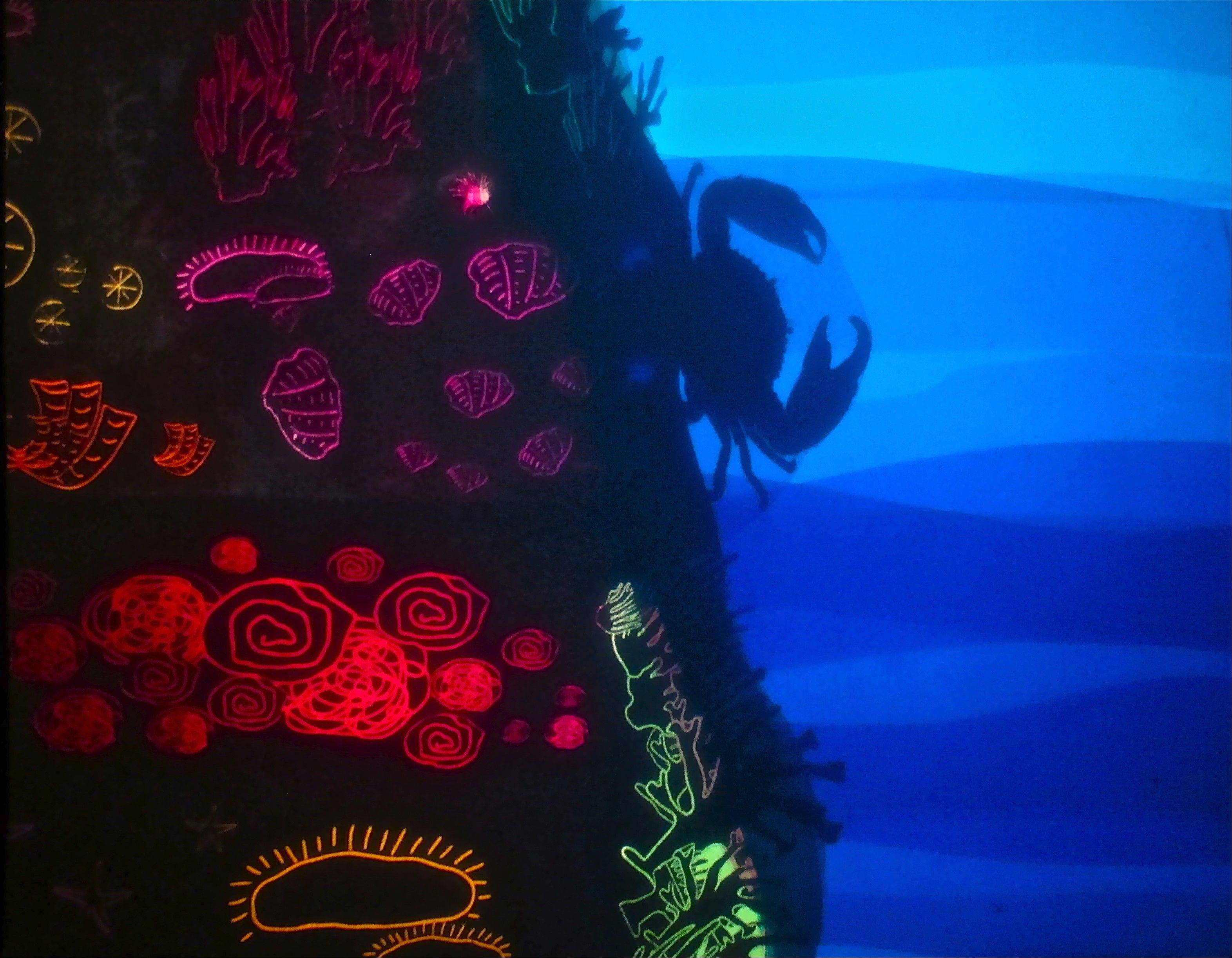 "A crab navigates the reef in a scripted production of ""The History of Light"" from Glen Ellyn's Sea Beast Puppet Company, which is making its first appearance at the Chicago Improv Festival."