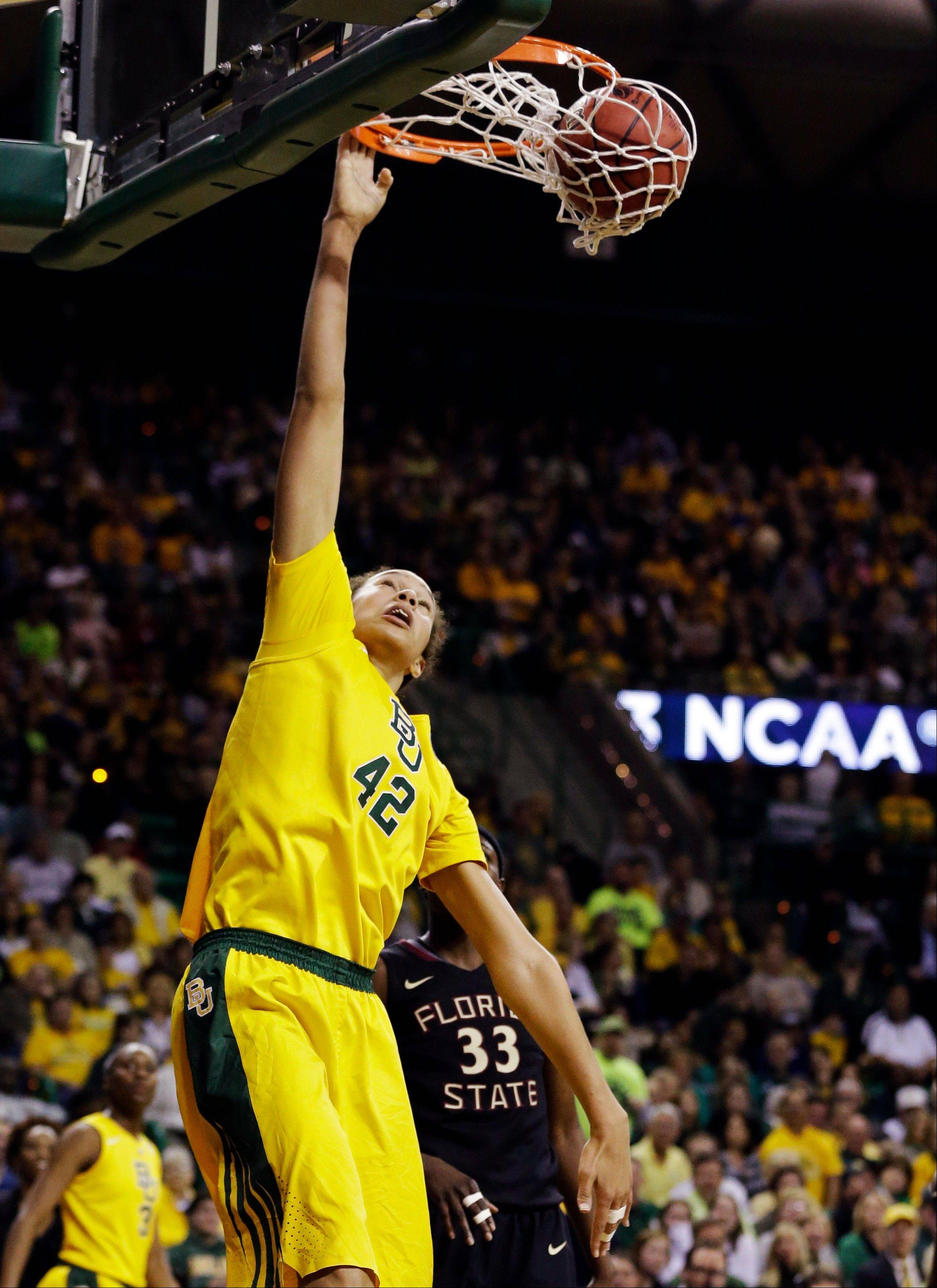 Against Florida State on Tuesday, Griner threw down three dunks in the post that any guy her age would be proud of.