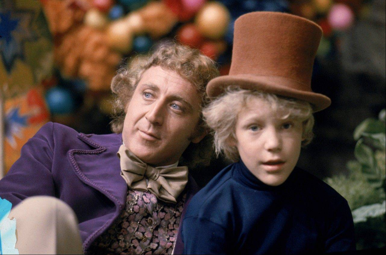 "See Gene Wilder and Peter Ostrum in the 1971 film ""Willy Wonka and the Chocolate Factory"" at the Music Box Theatre in Chicago on Sunday, March 31."
