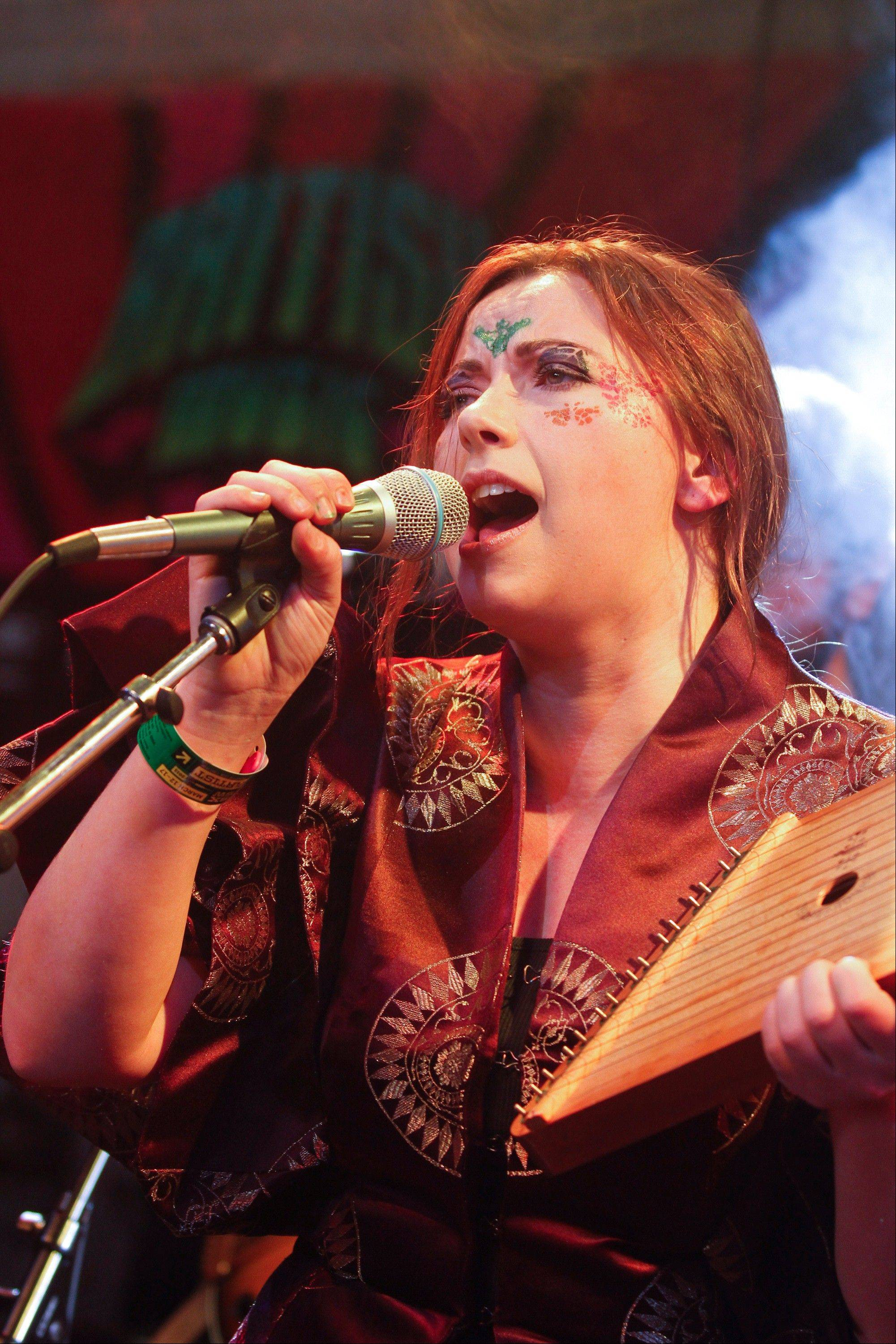 Singer Charlotte Church performs during the recent SXSW Music Festival, in Austin, Texas.